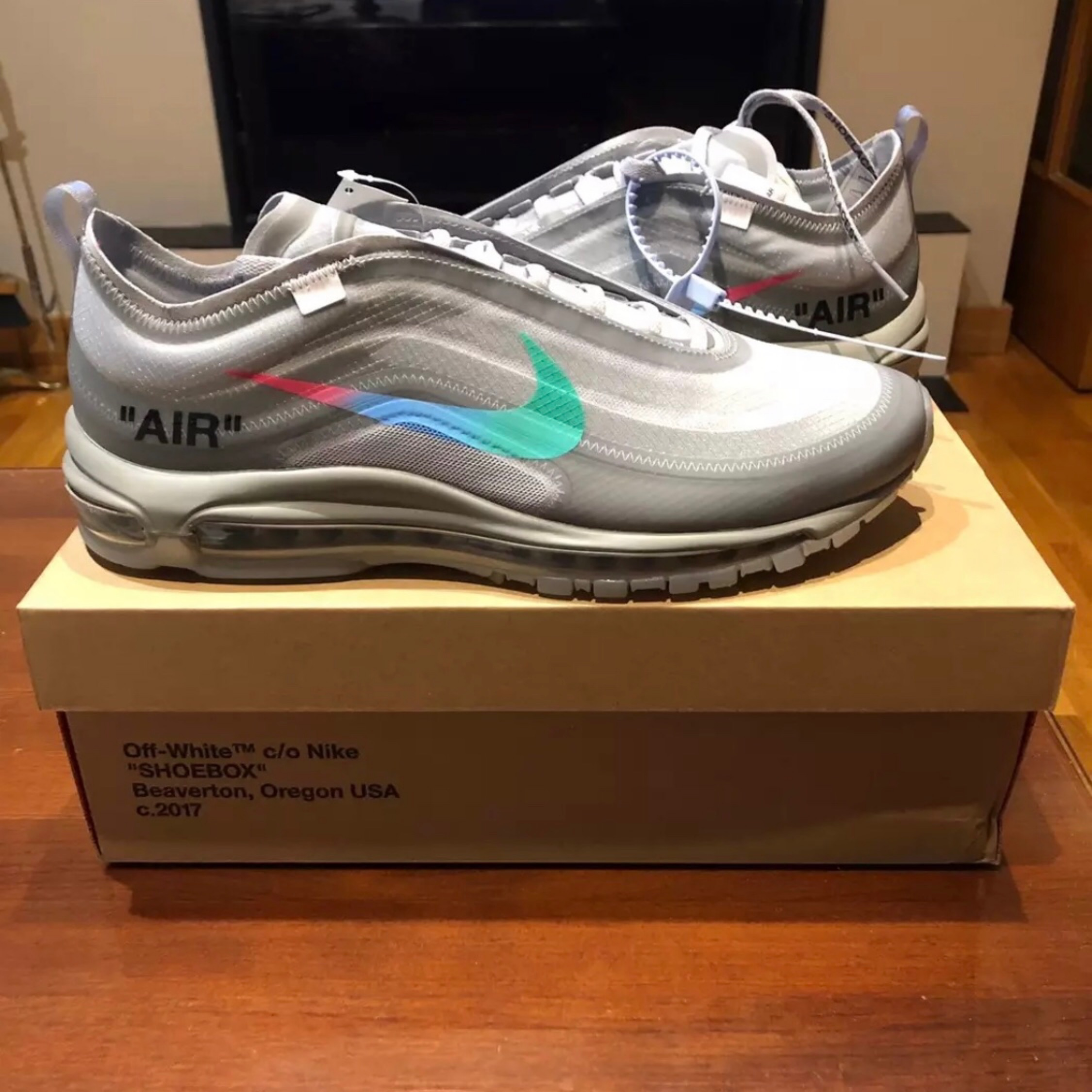 Nike Air Max 97 Cr7's Gold Very Rare. for sale eBay