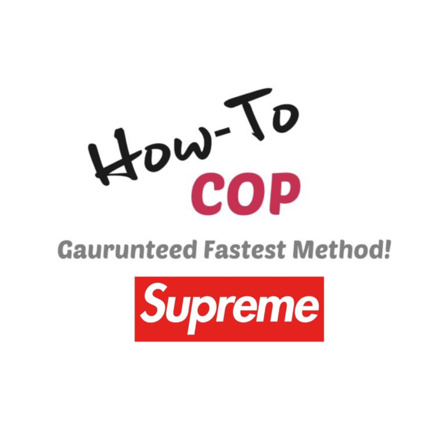 Supreme Ultimate Drop Guide - Fast Method!