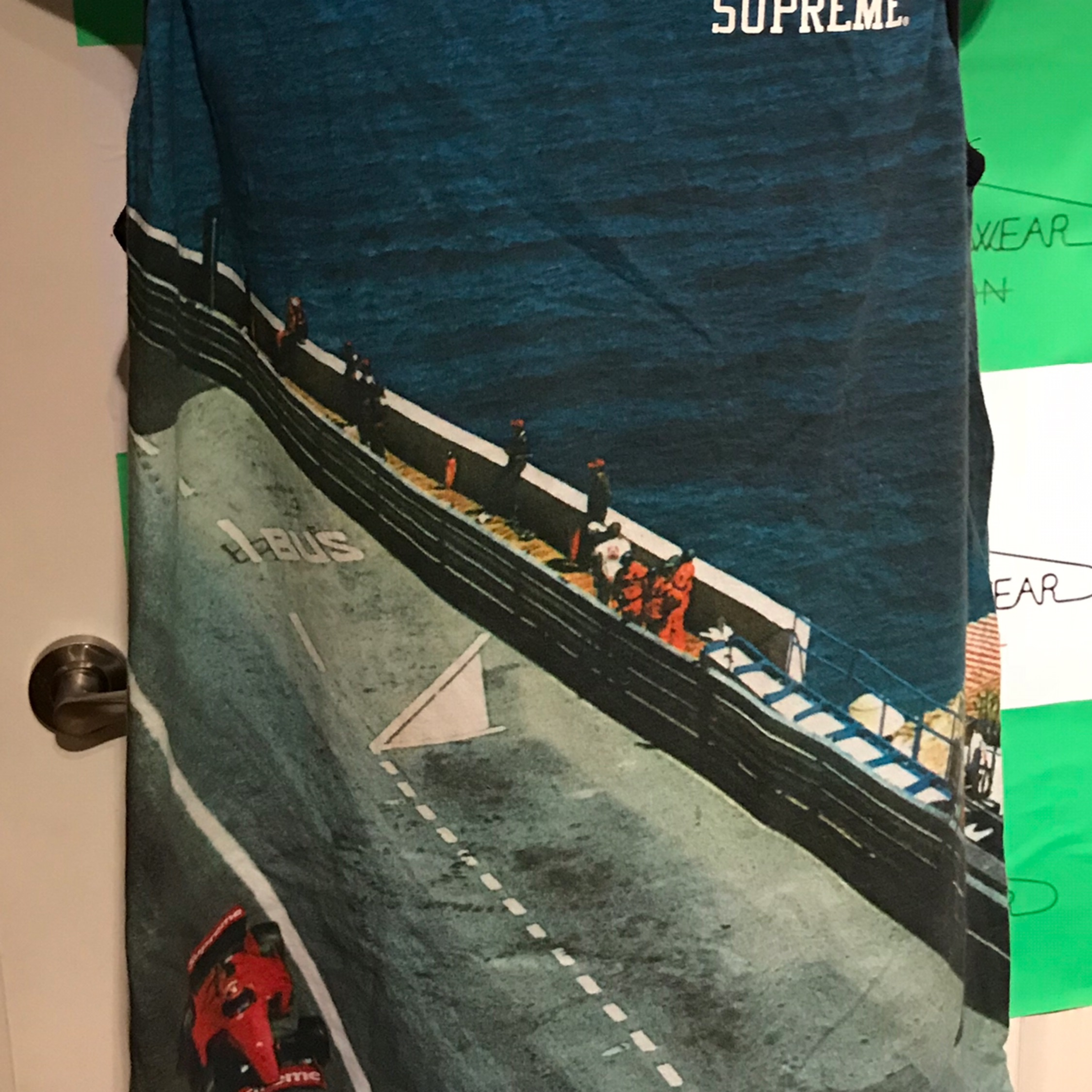 Ss14 Supreme Grand Prix Sleeveless Tee
