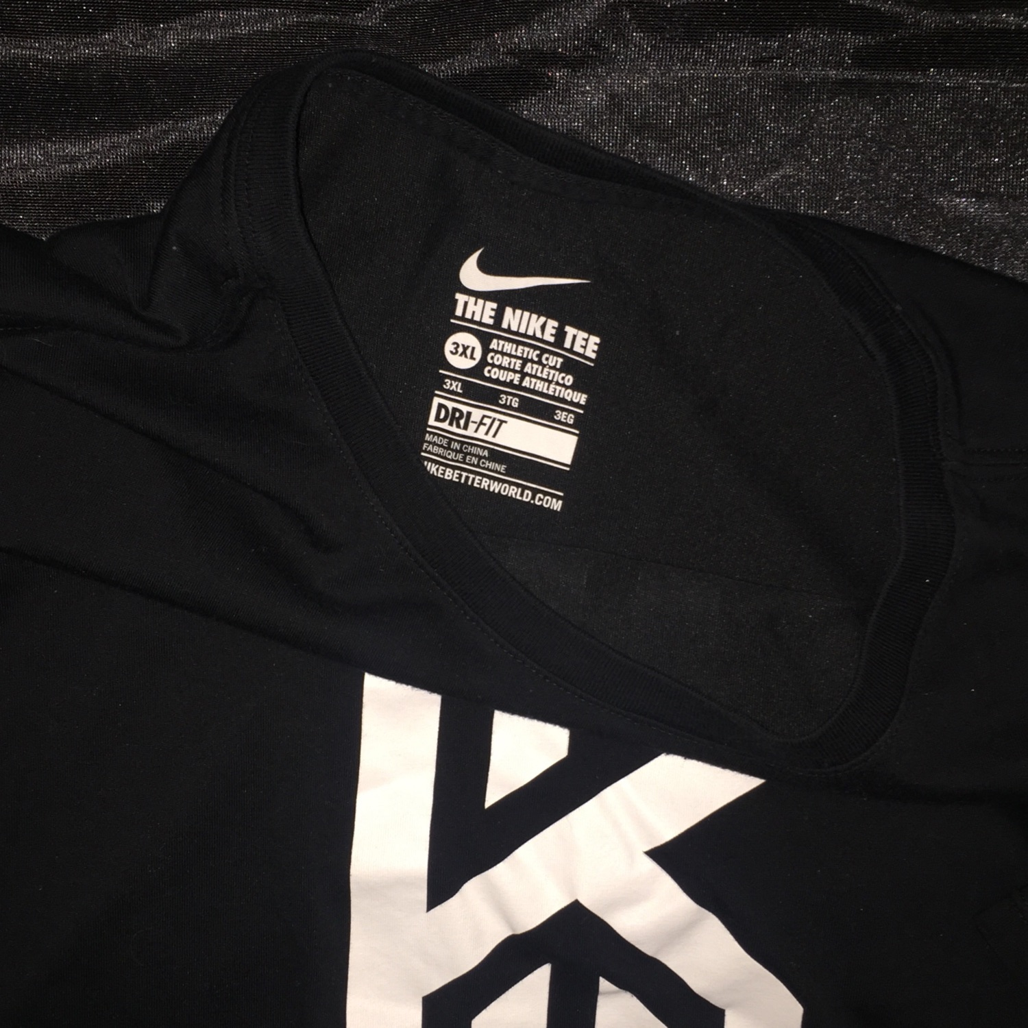 Nike Kyrie Irving Black Shirt