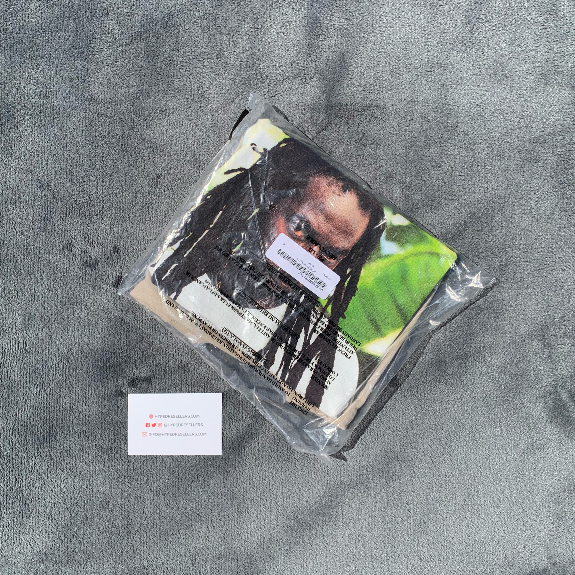 Supreme Buju Banton Photo Tee - Medium - Clay