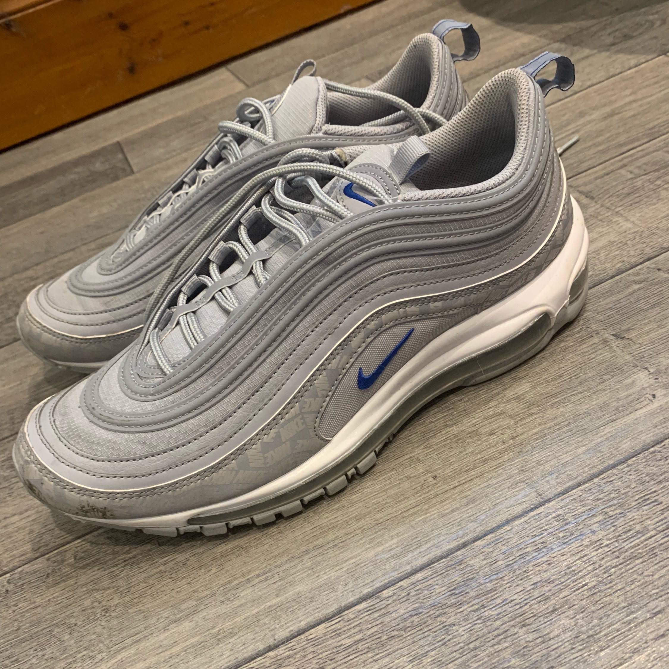 Nike Air Max 97 Silver Bullet UK 7 for sale online eBay
