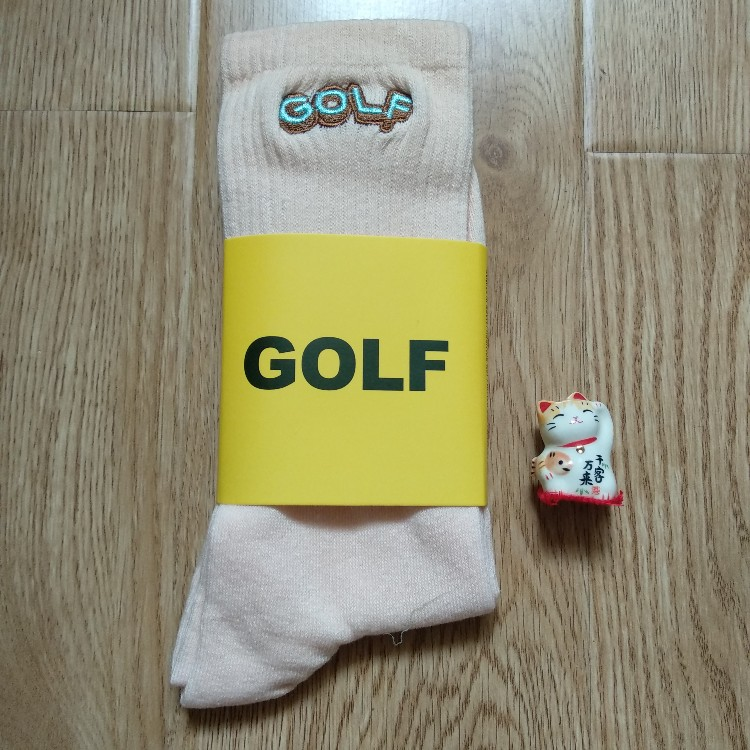 Golf Wang Letters Tan Socks