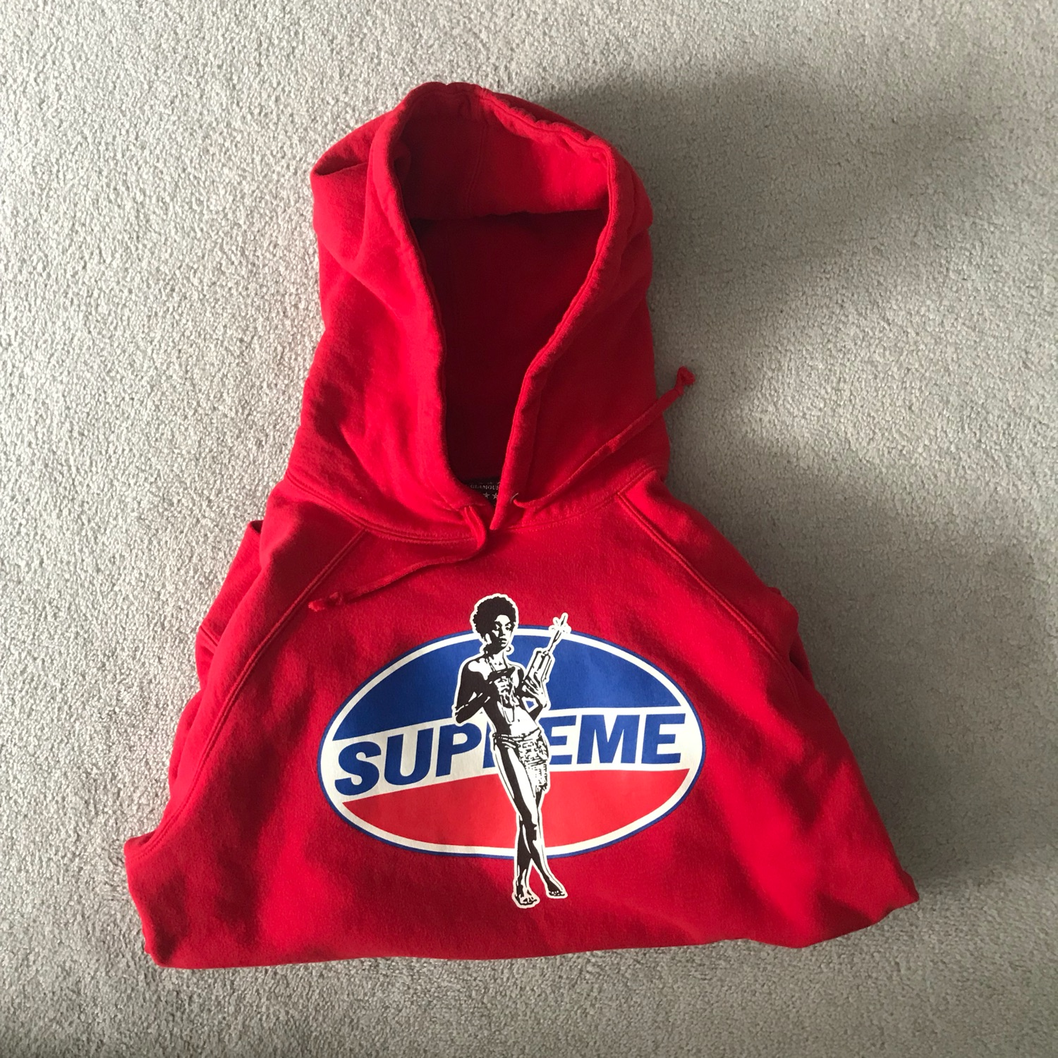 Supreme X Hysteric Glamour Hoodie