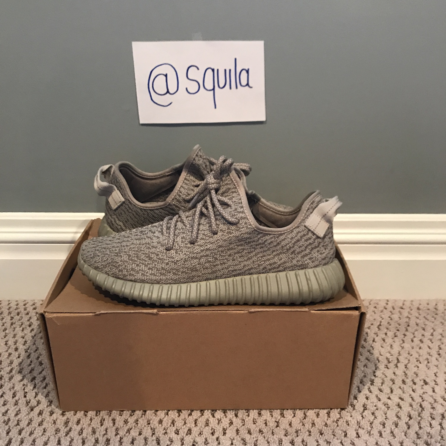 Order Women Yeezy 350 moonrock replica uk Cheap Black
