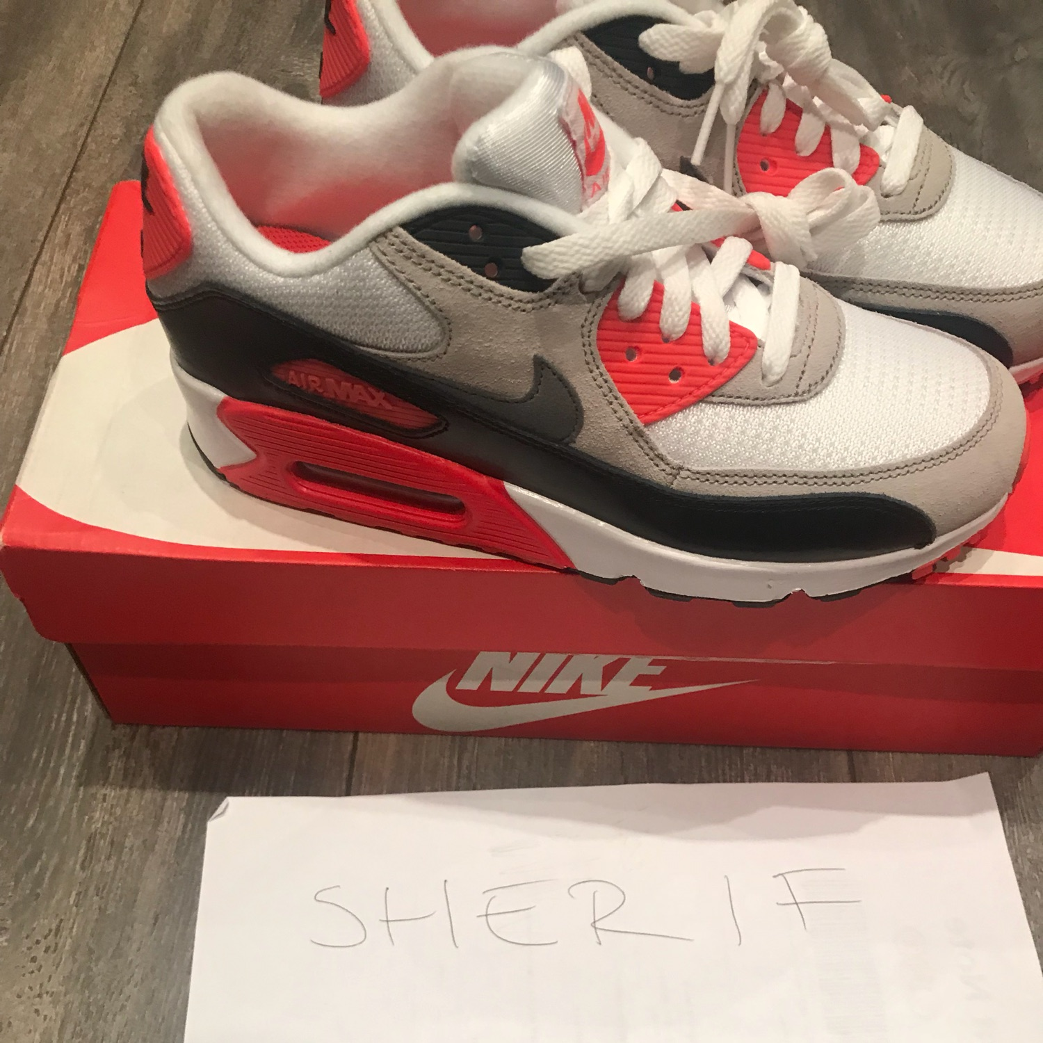 Brand New Nike Air Max Infrared Uk 5.5