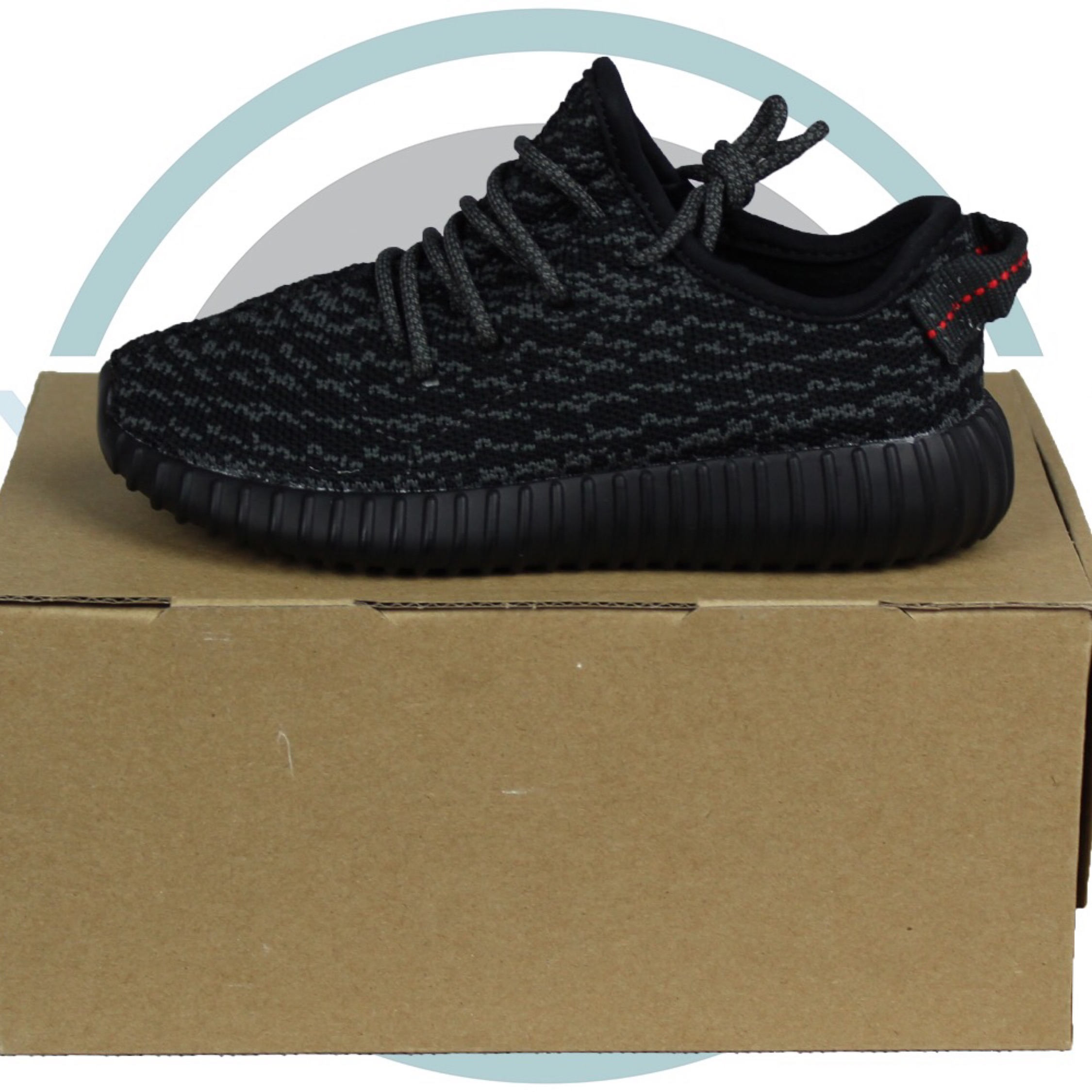 2b386feeb4d2a Adidas Yeezy Boost 350 Pirate Black Infant