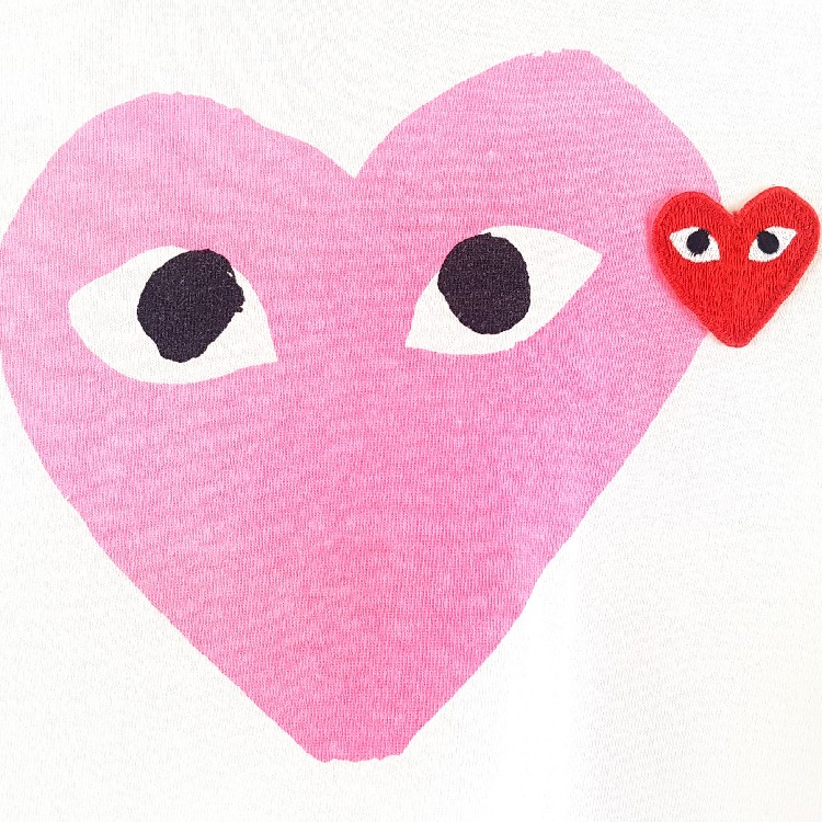 Comme Des Garcons Play Tee - Small
