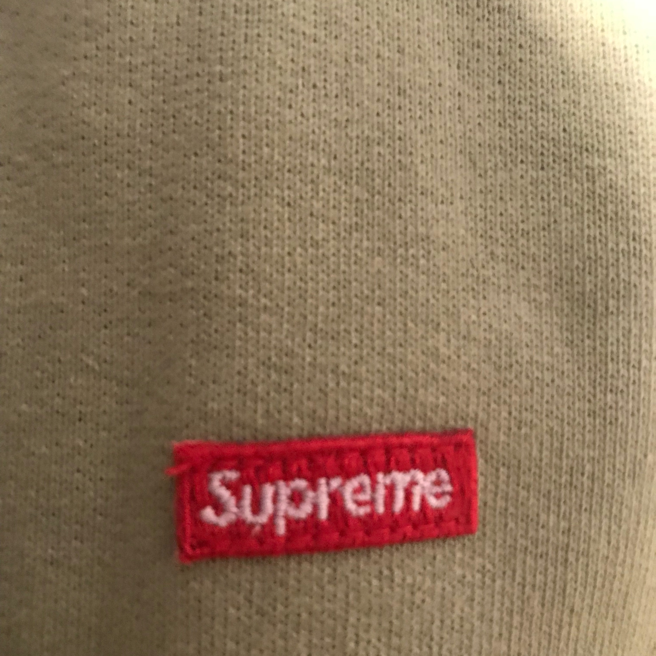 Fw16 Supreme Small Box Logo Thermal Zip Up Hoodie