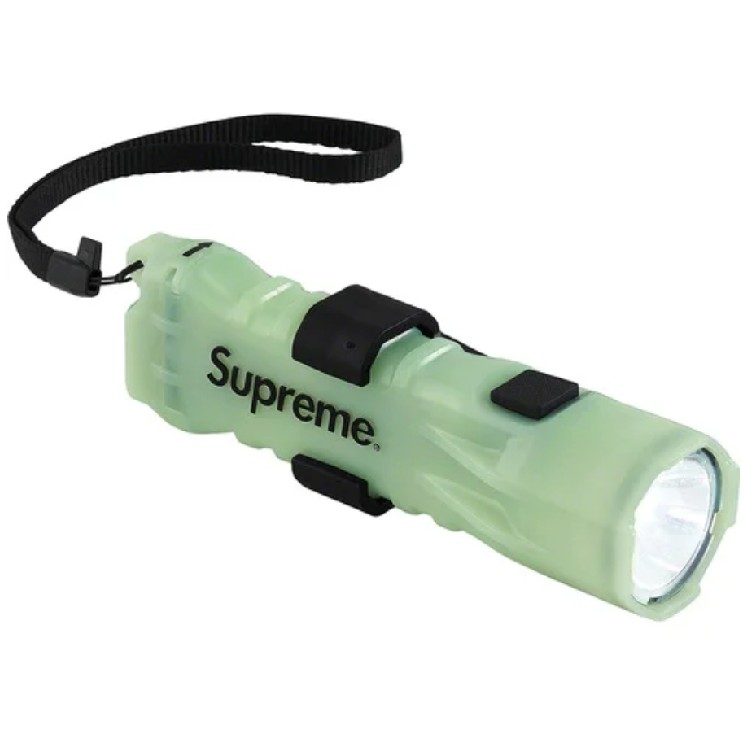 Supreme/Pelican 3310PL Glow In The Dark Flashlight