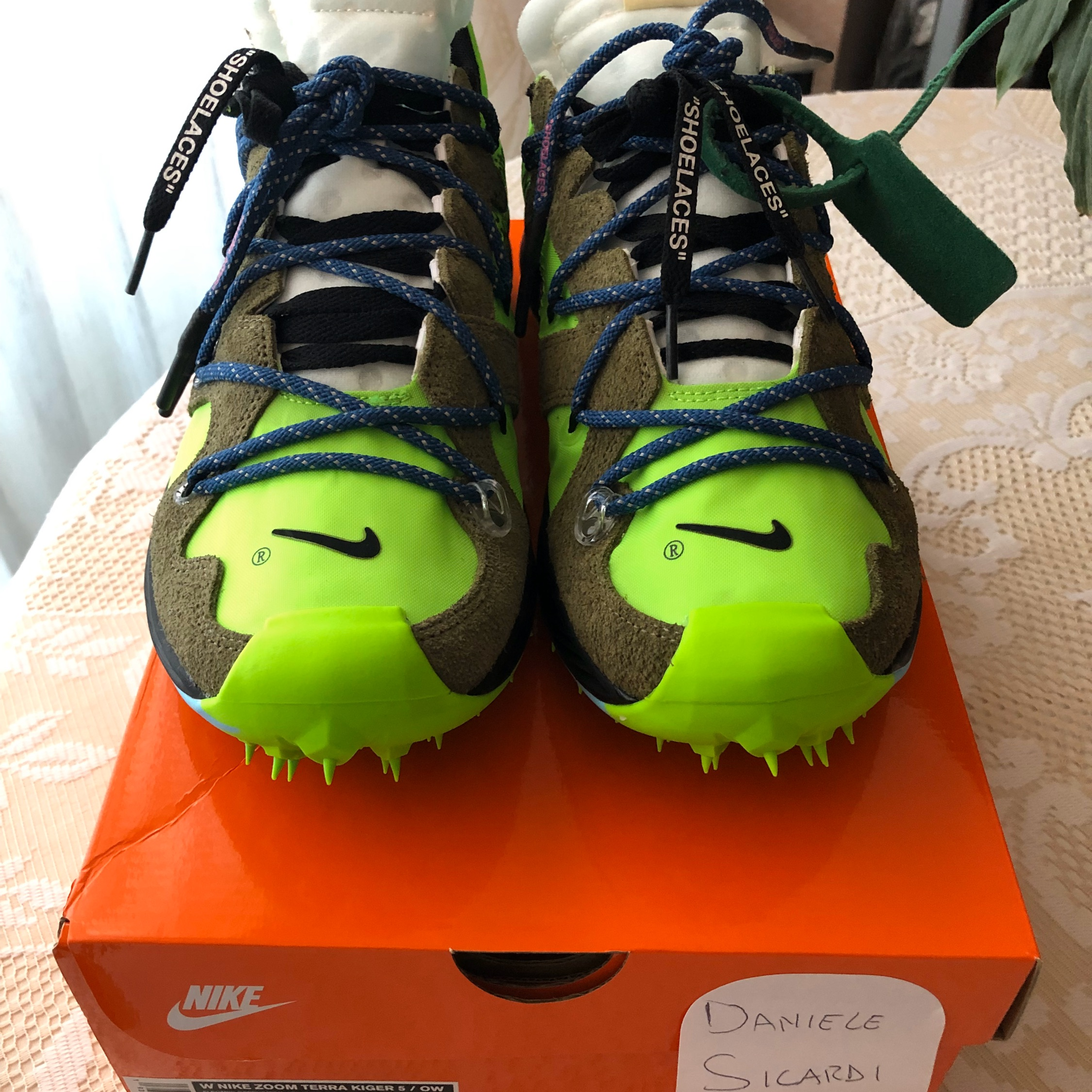 Nike X Off-White Zoom Kiger 5 Green