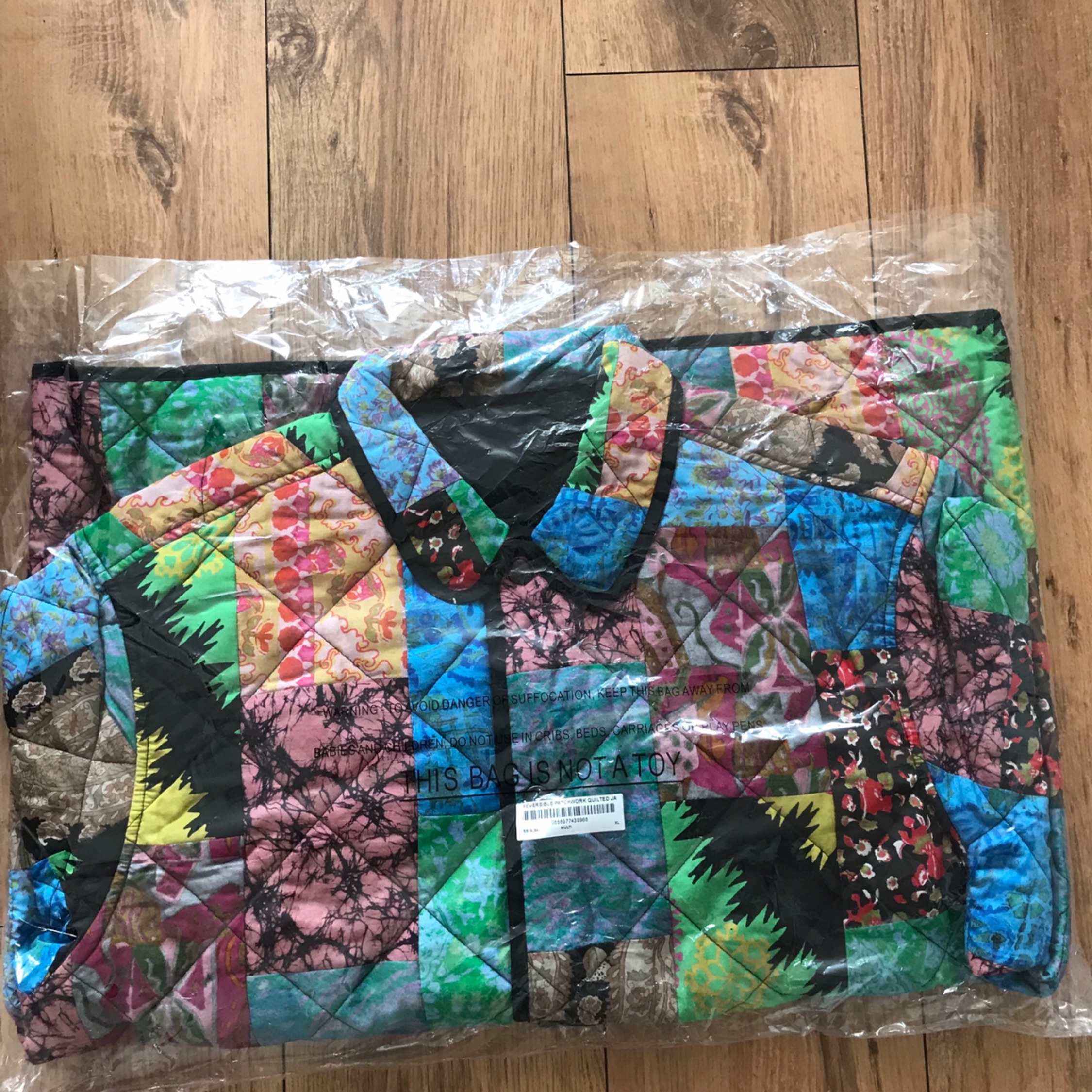 Ss19 Supreme Reversible Patchwork Quilted Jacket