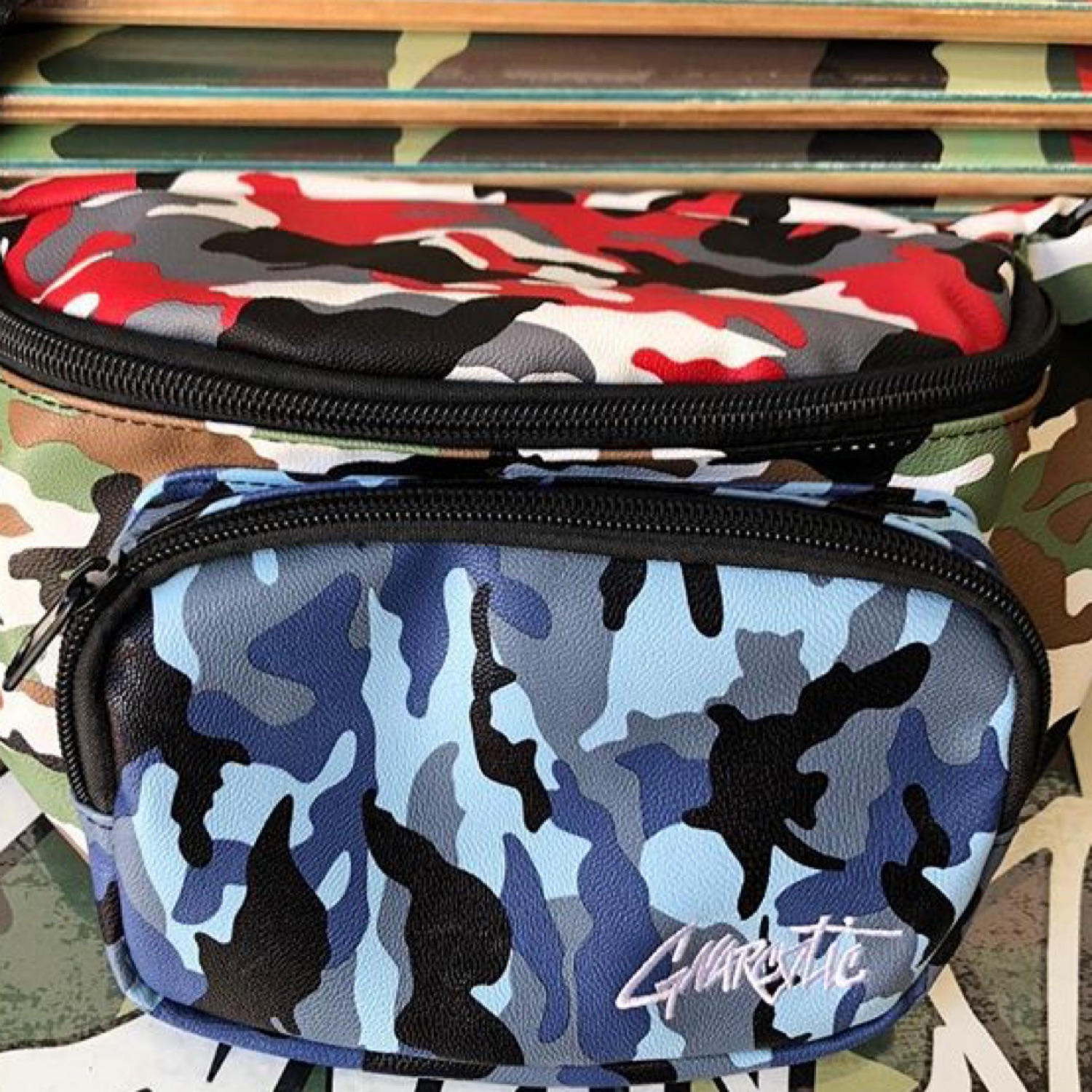 Gnarcotic Tri-Camo Waistbag Leather