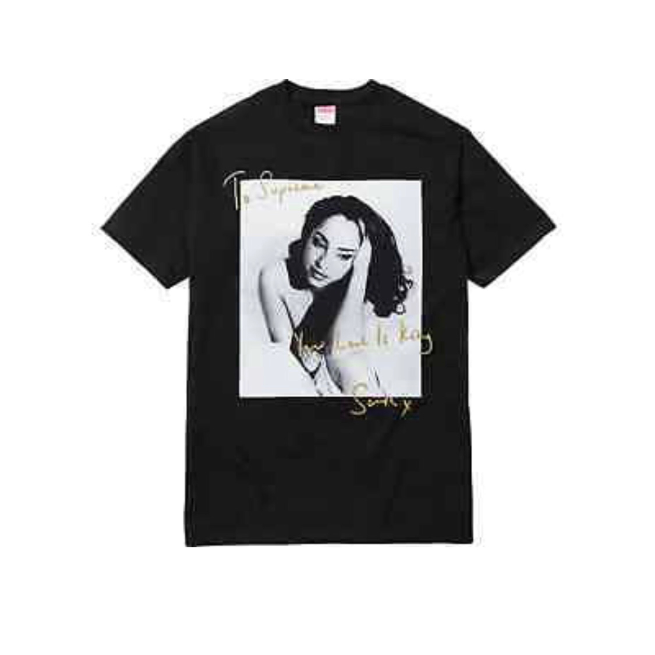 Supreme Sade Tee Black - Size Medium