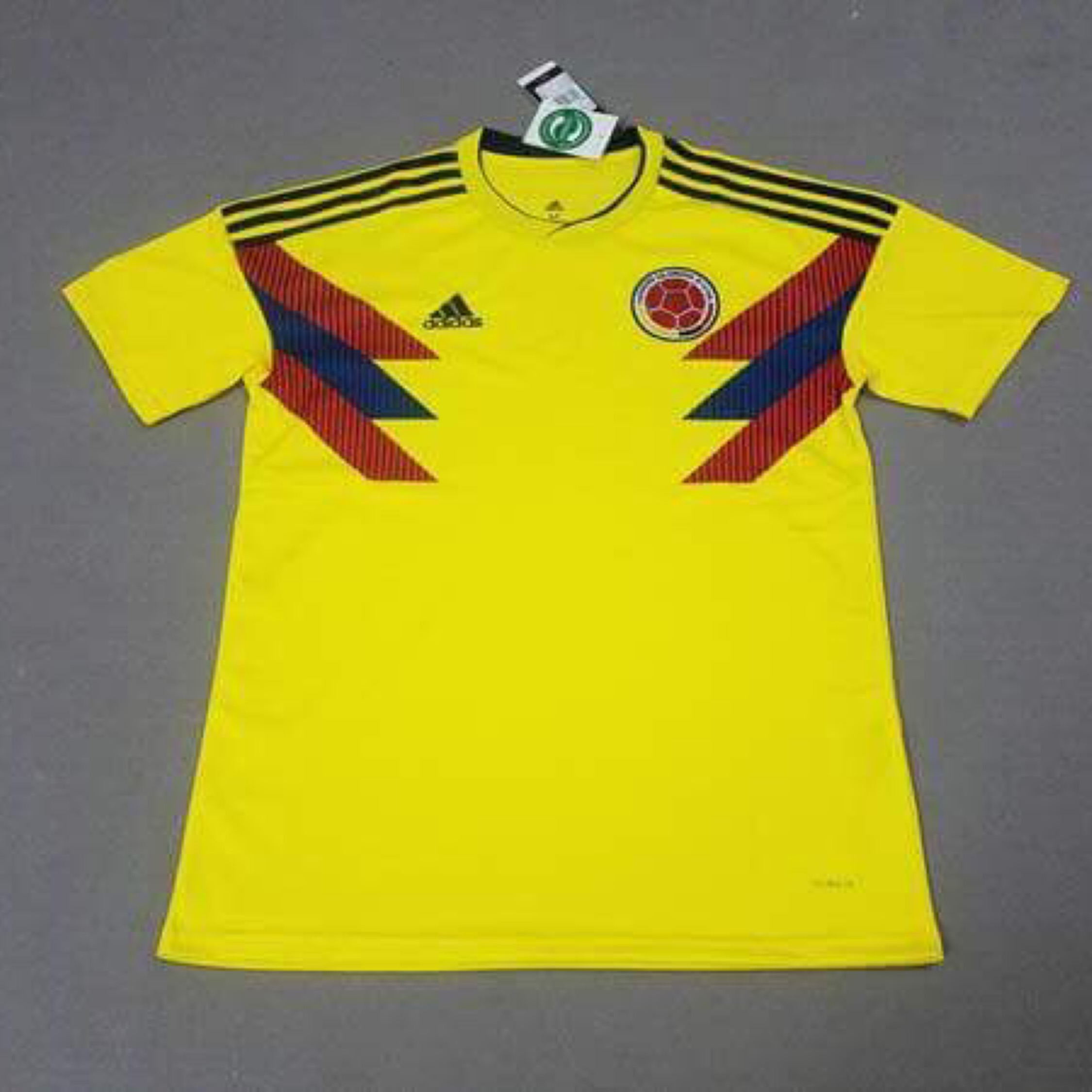 71a61c645e3 Colombia Home Kit World Cup 2018