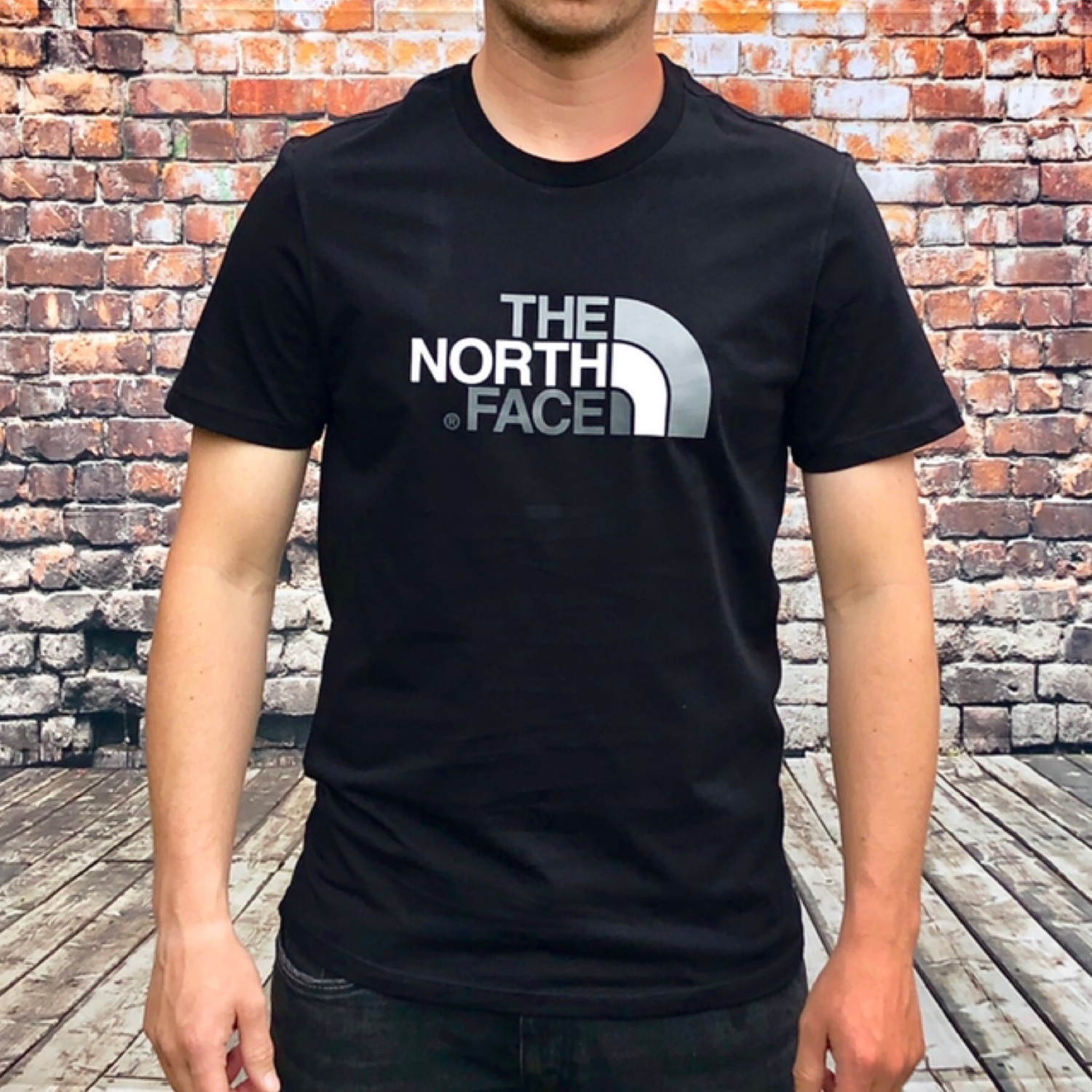 Brand New Black The North Face Tee Shirt