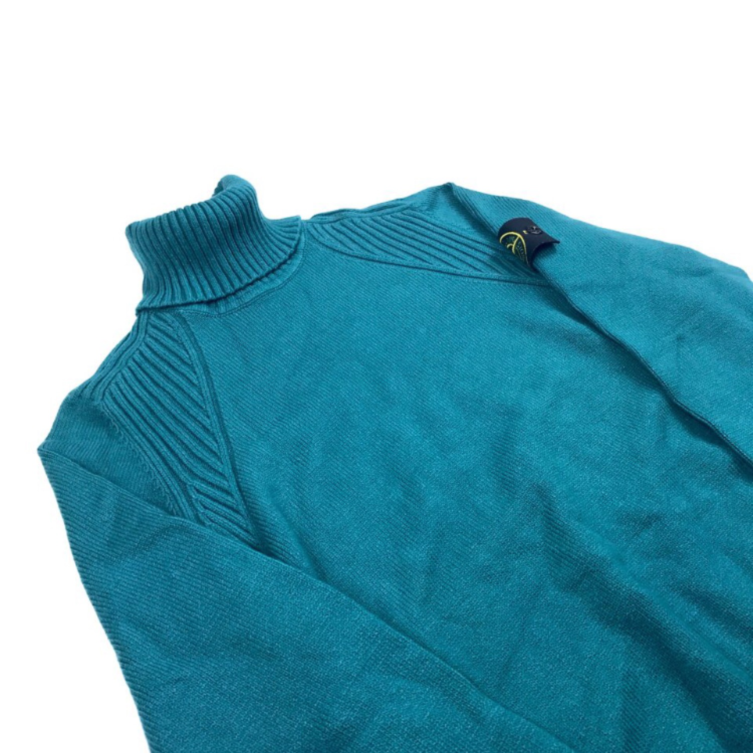 Stone Island AW 2014 Turquoise Roll Neck Jumper