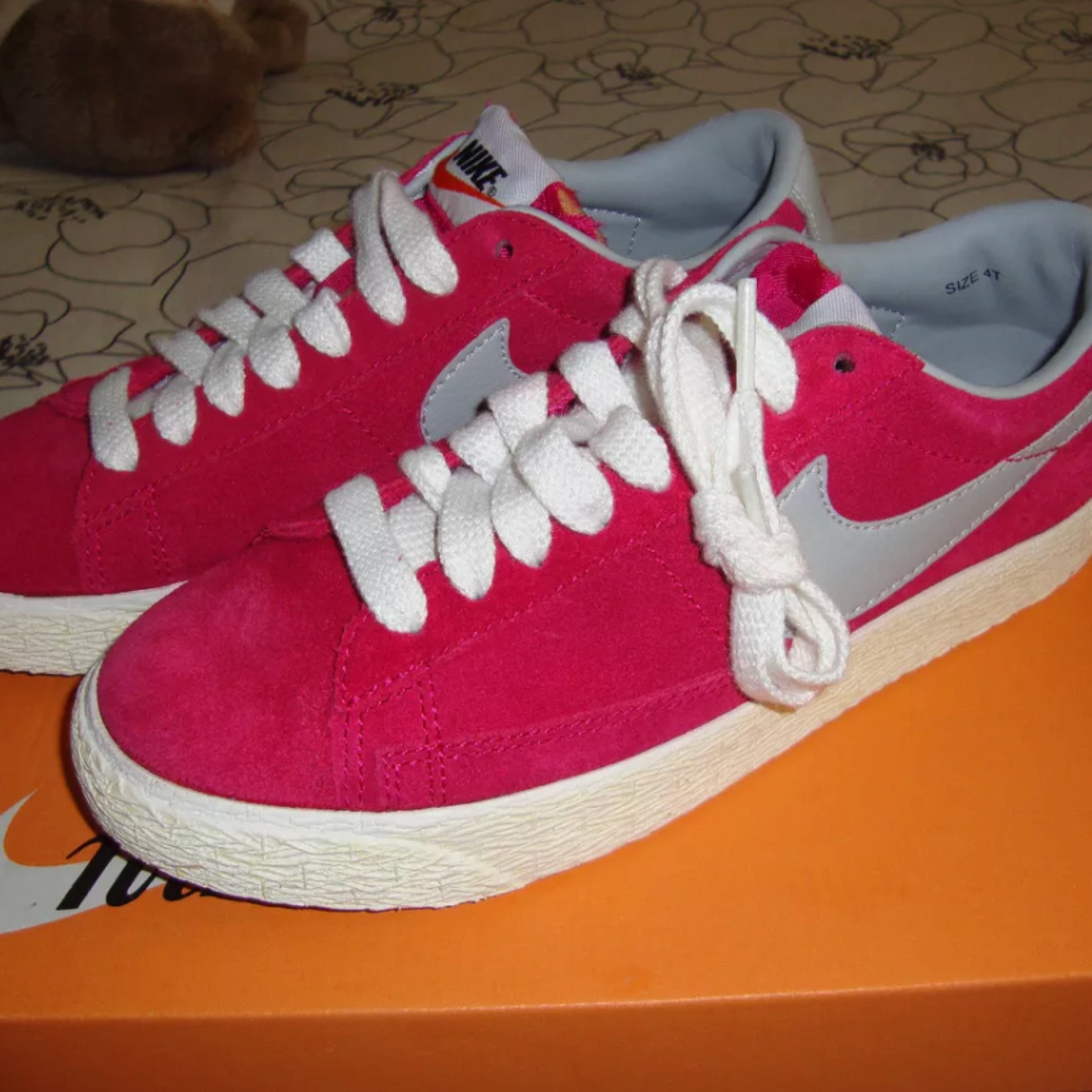 Nike Blazer Low Prm Vintage Suede Sneakers New