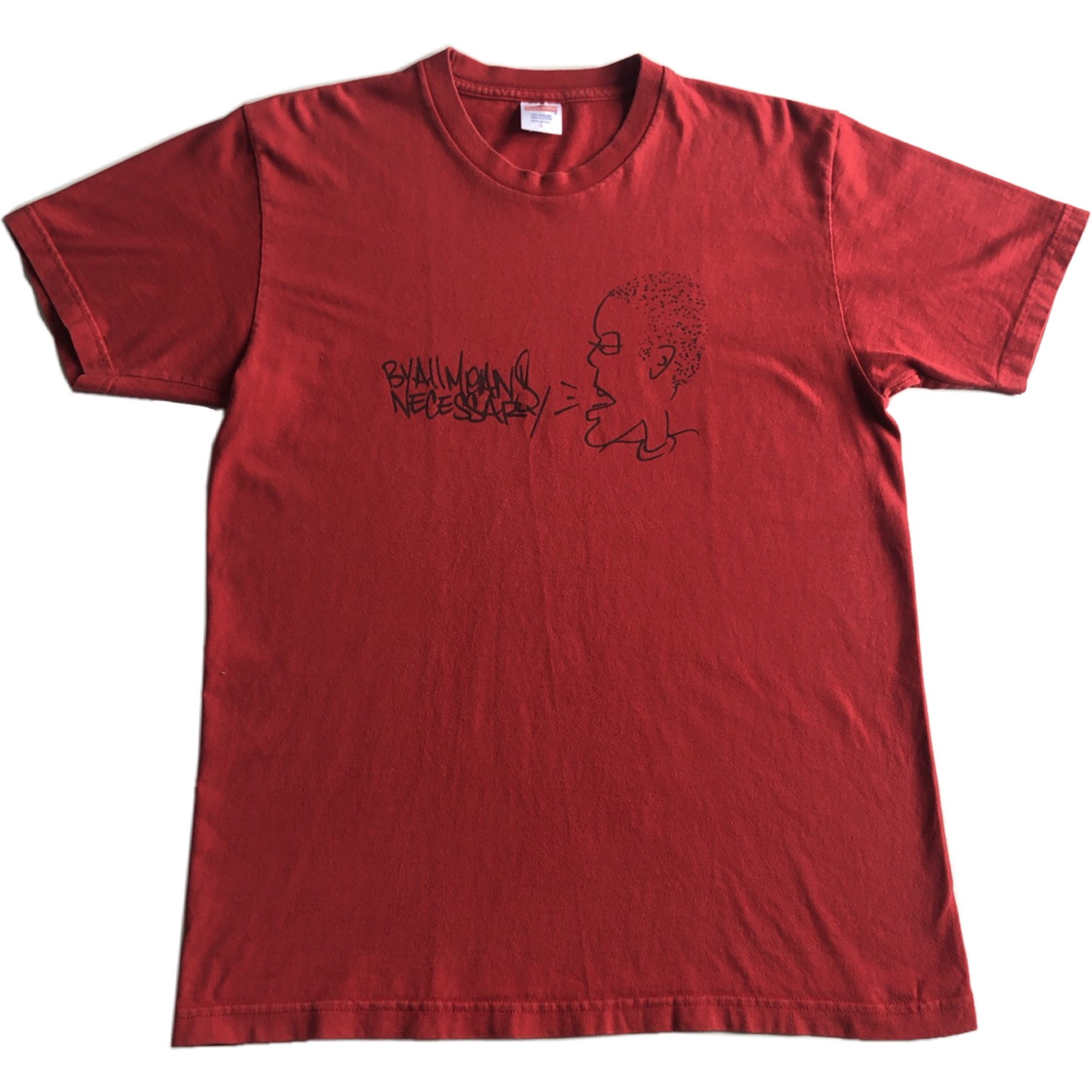 Supreme Krs One By All Means Necessary Bogo Tshirt