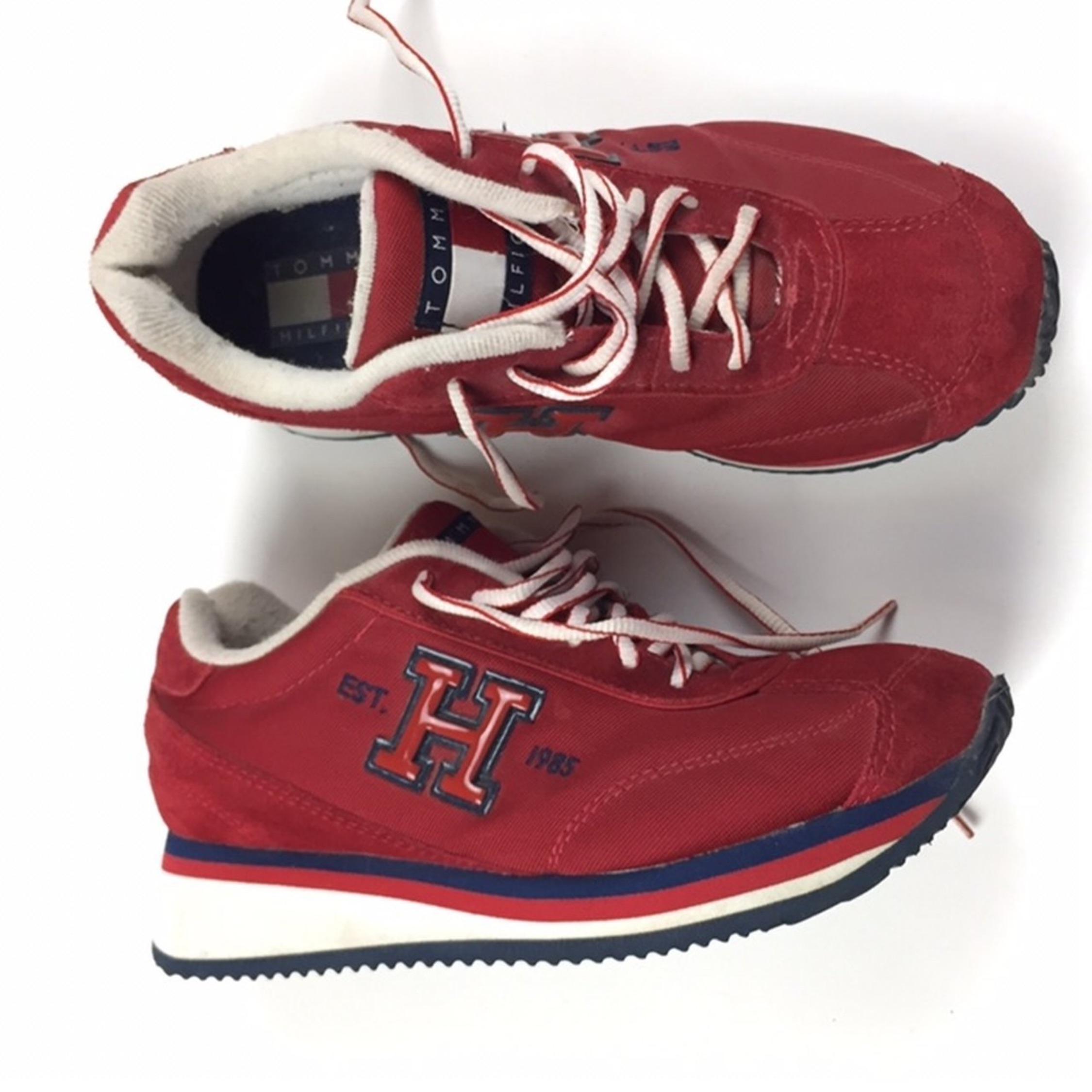 Vintage Tommy Hilfiger Athletic Style Shoes