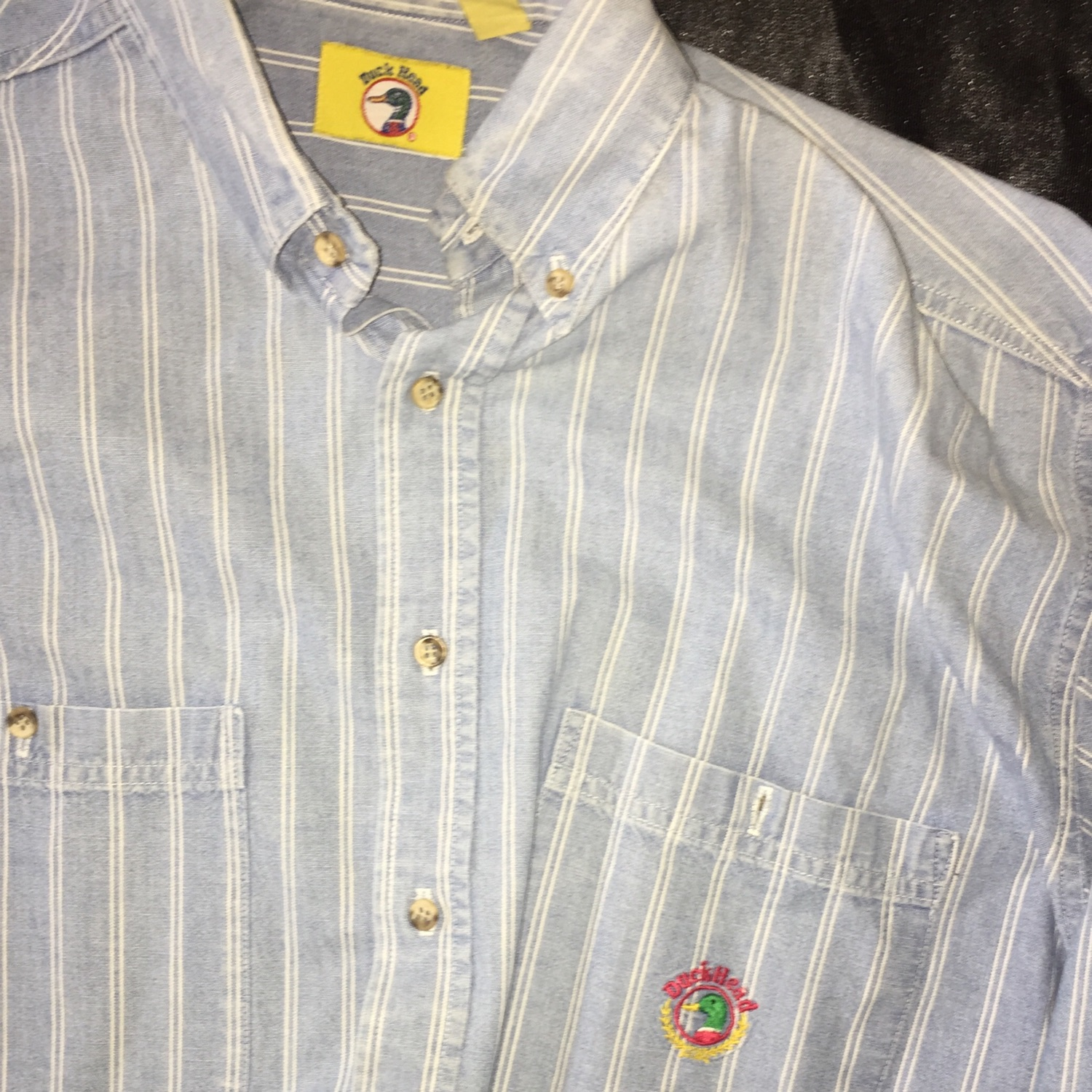 Duck Head Button Up Size Medium