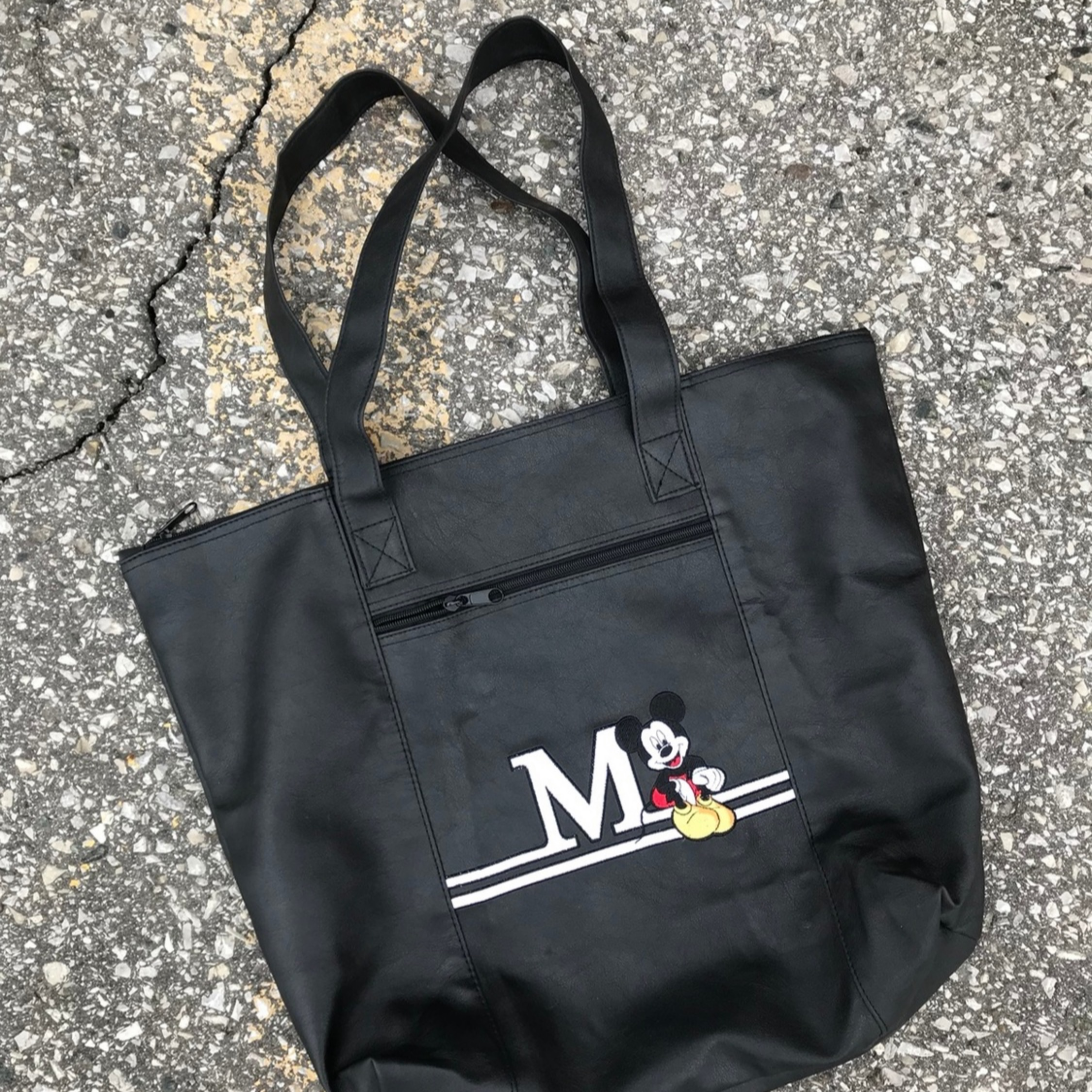 Vintage 90S Disney Mickey Mouse Tote Bag