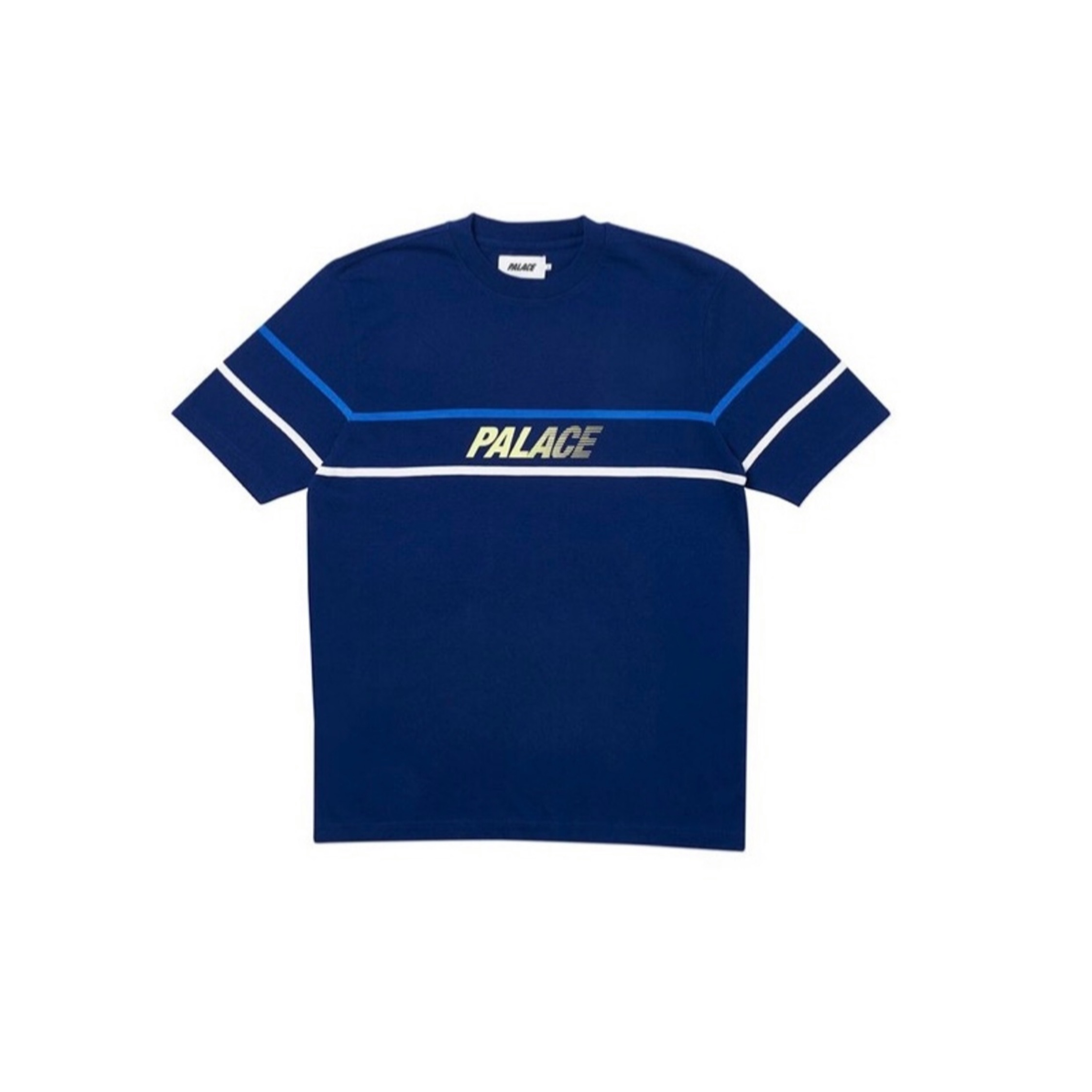 Palace - Double Bubble Tee In Navy Blue
