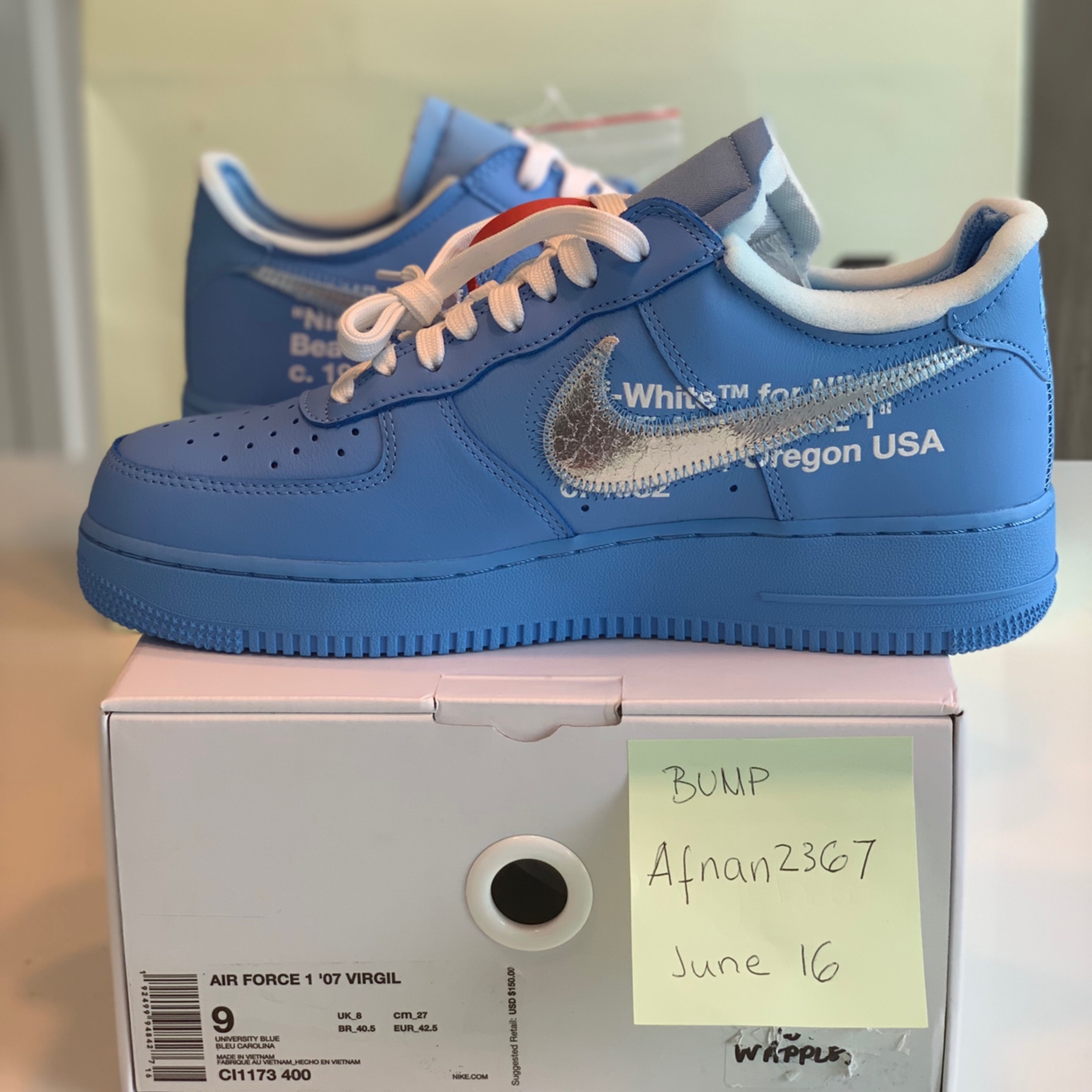 Off White Air Force Mca 07