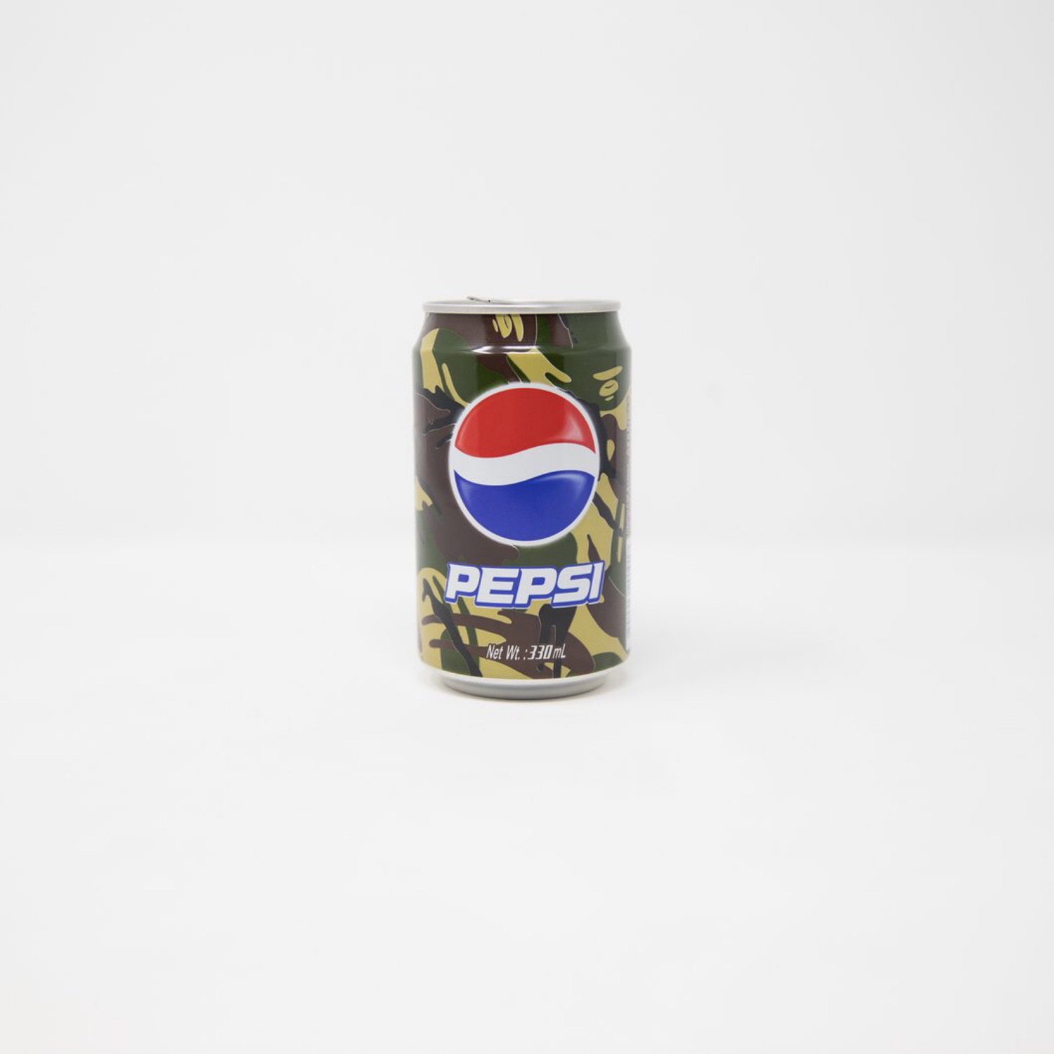 Aape By A Bathing Ape X Pepsi Green Camo Can (Used