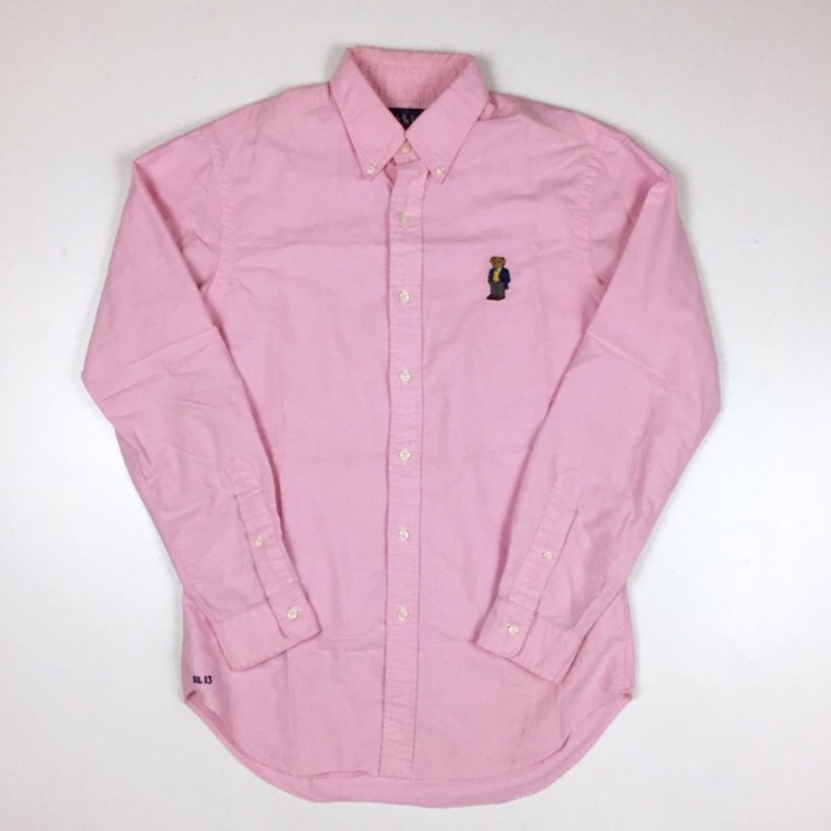 Ralph Lauren Polo Sport Bear Pink Shirt