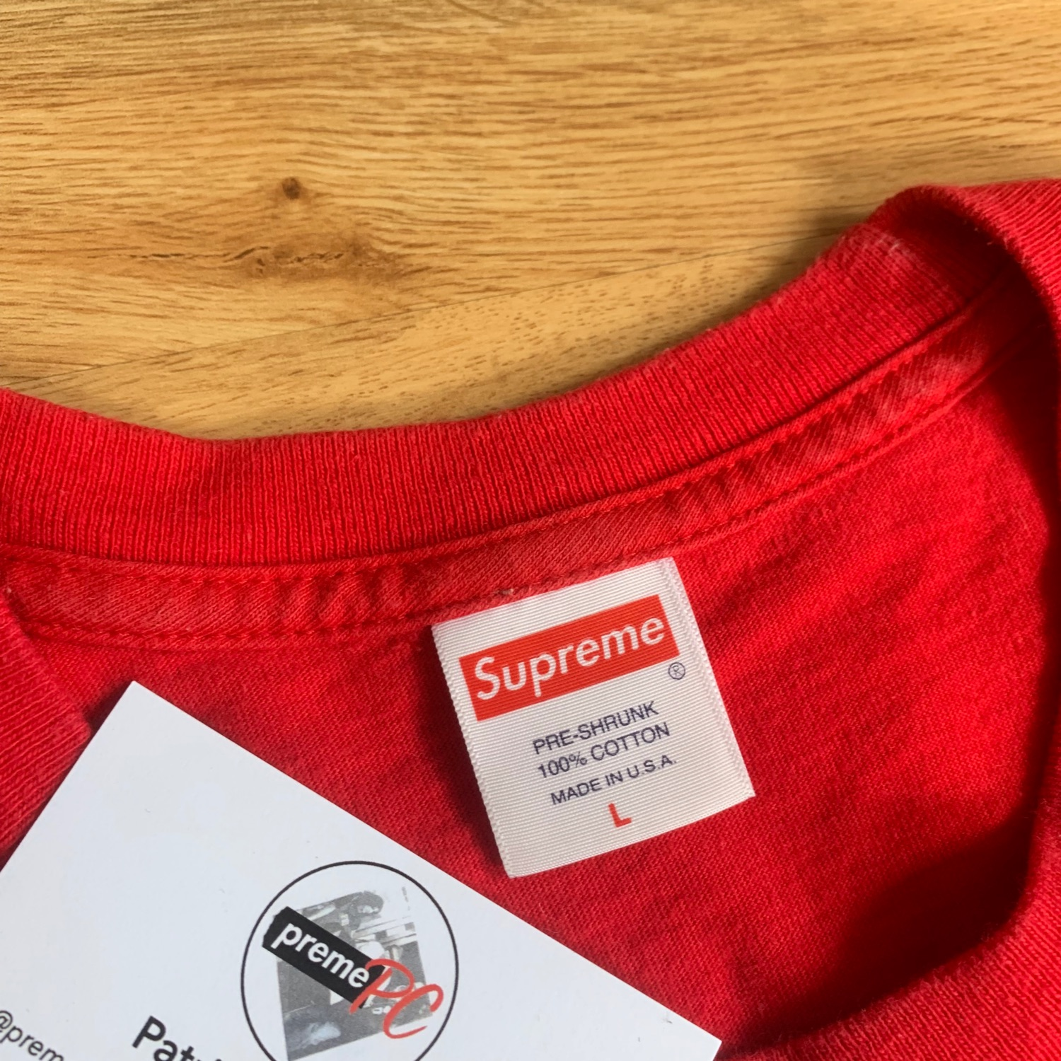 Supreme Scarface Shower Tee Red