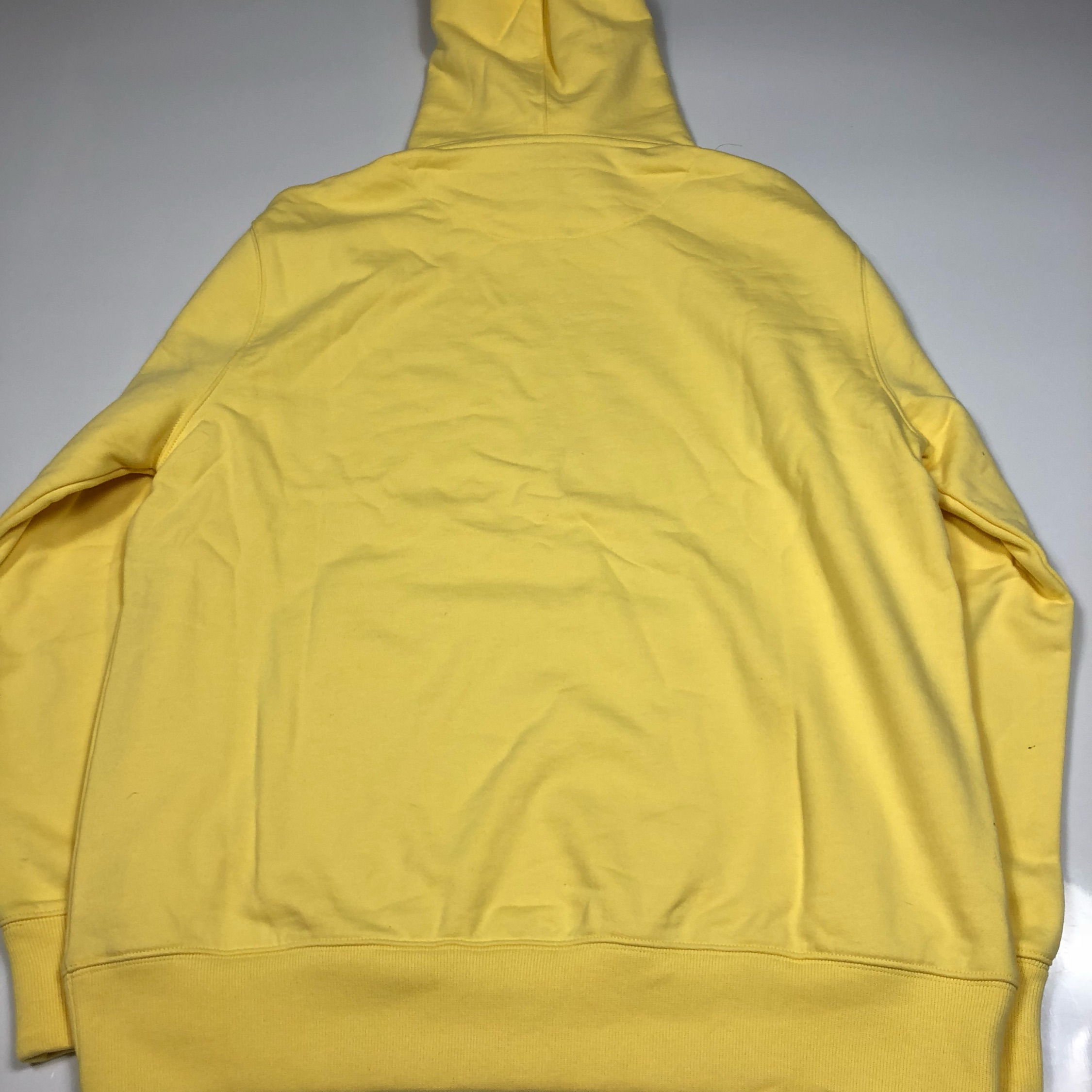 Palace Means Couture Yellow Hoodie Brand New L