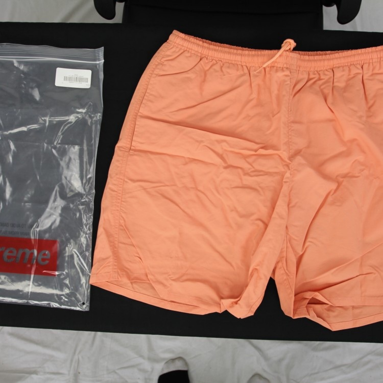 Supreme Nylon Water Shorts Peach Medium