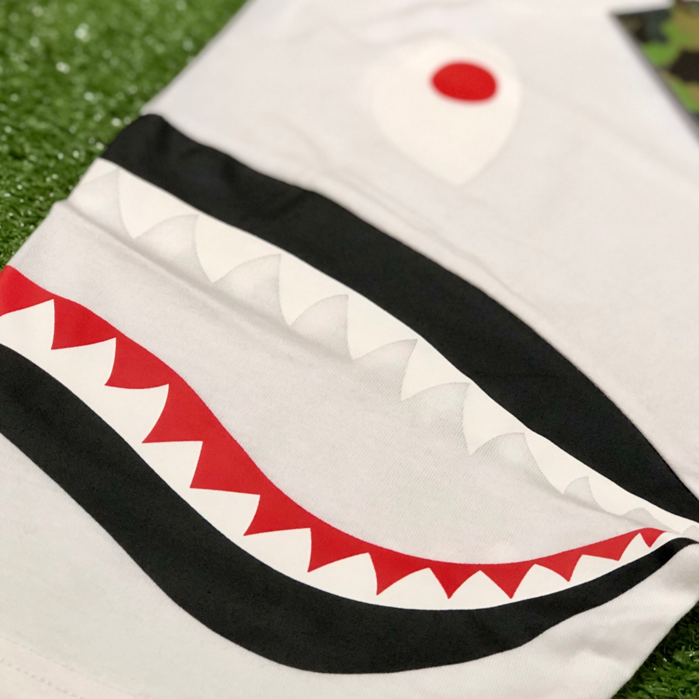 Bape Shark Shoulder Tee