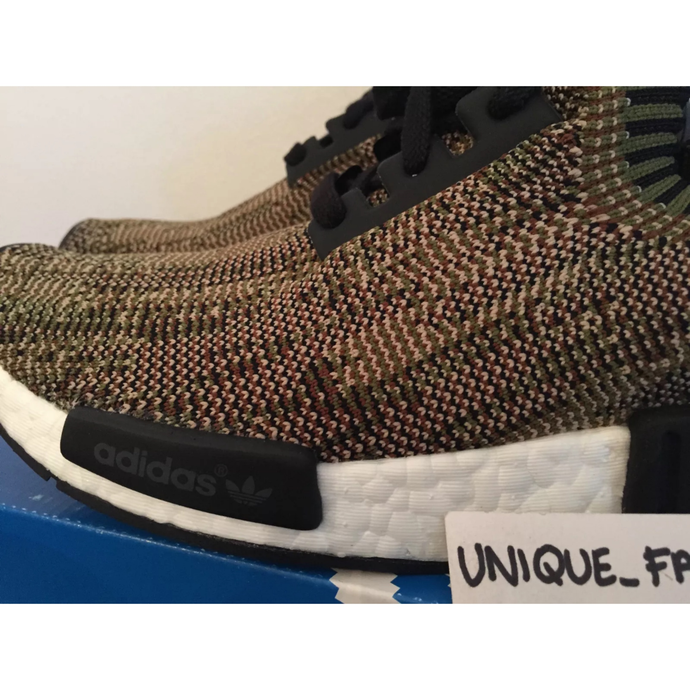 premium selection f6e7b 30aa4 Adidas Nmd Runner R1 Glitch Camo Pack Olive