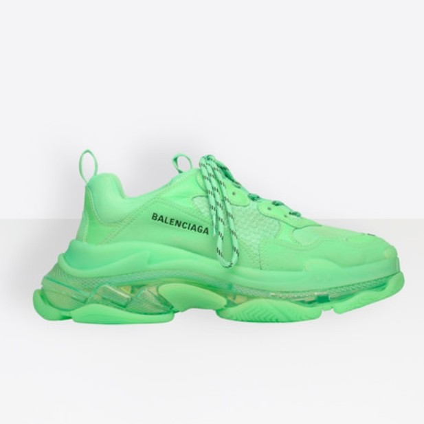 Balenciaga Triple S - Neon Green (Sizes UK 5-12 )