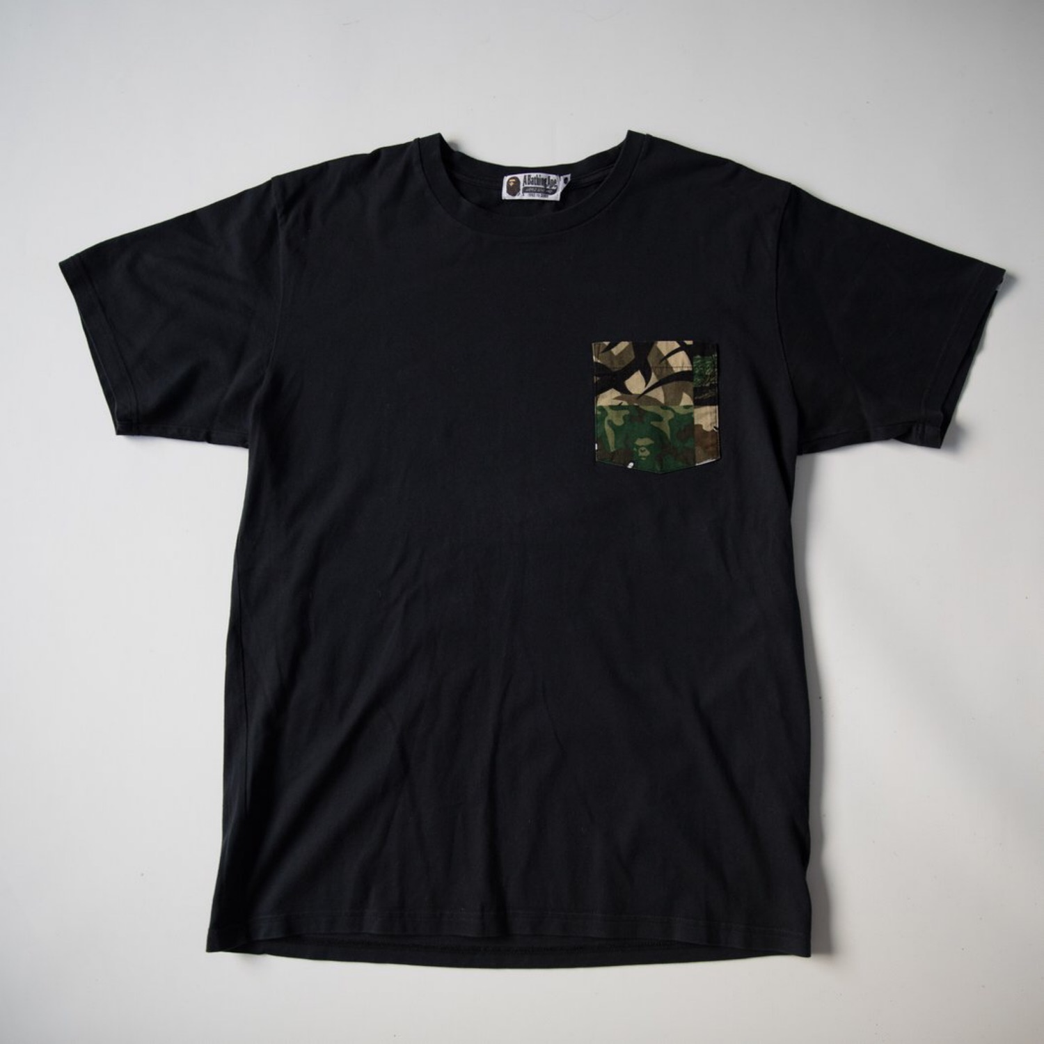 Bape Camo Pocket Tee (Used - Xl)