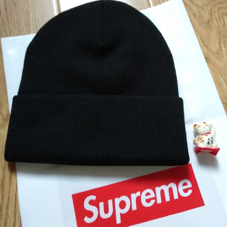 Supreme Cat In The Hat Beanie Black FW18