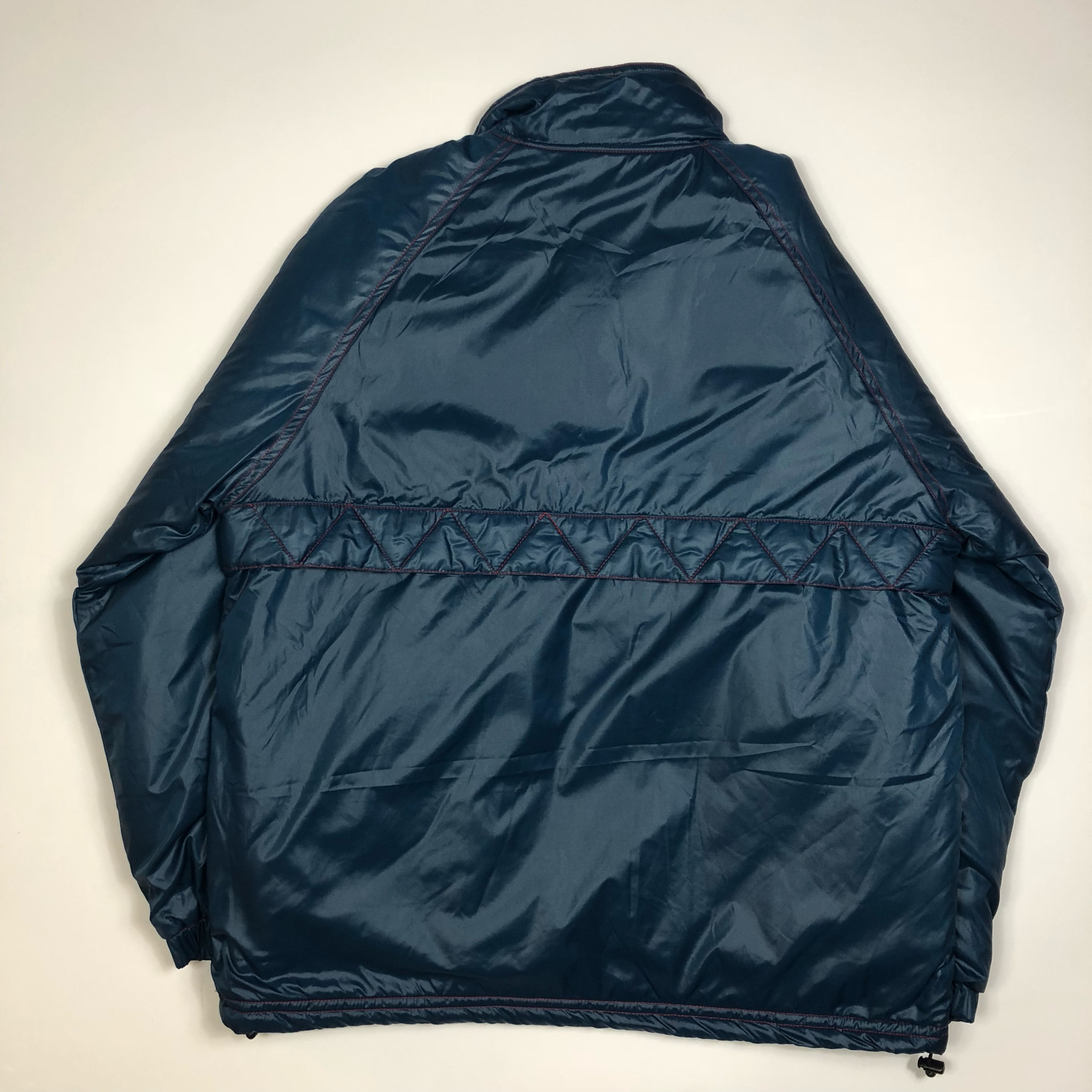 Supreme Twill Contrast Pullover Puffer Jacket New