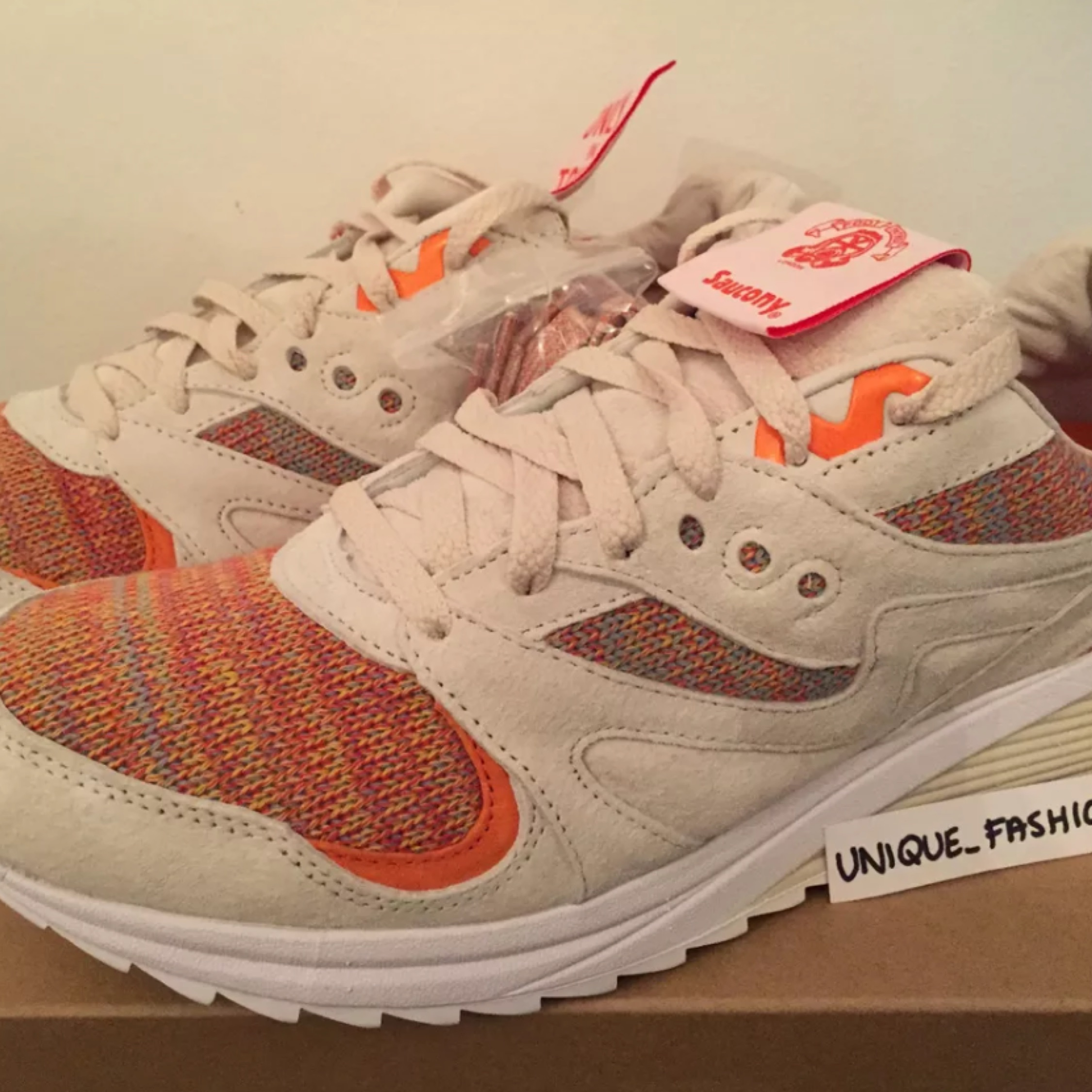 Saucony Grid 8000 Footpatrol X Beams Us9