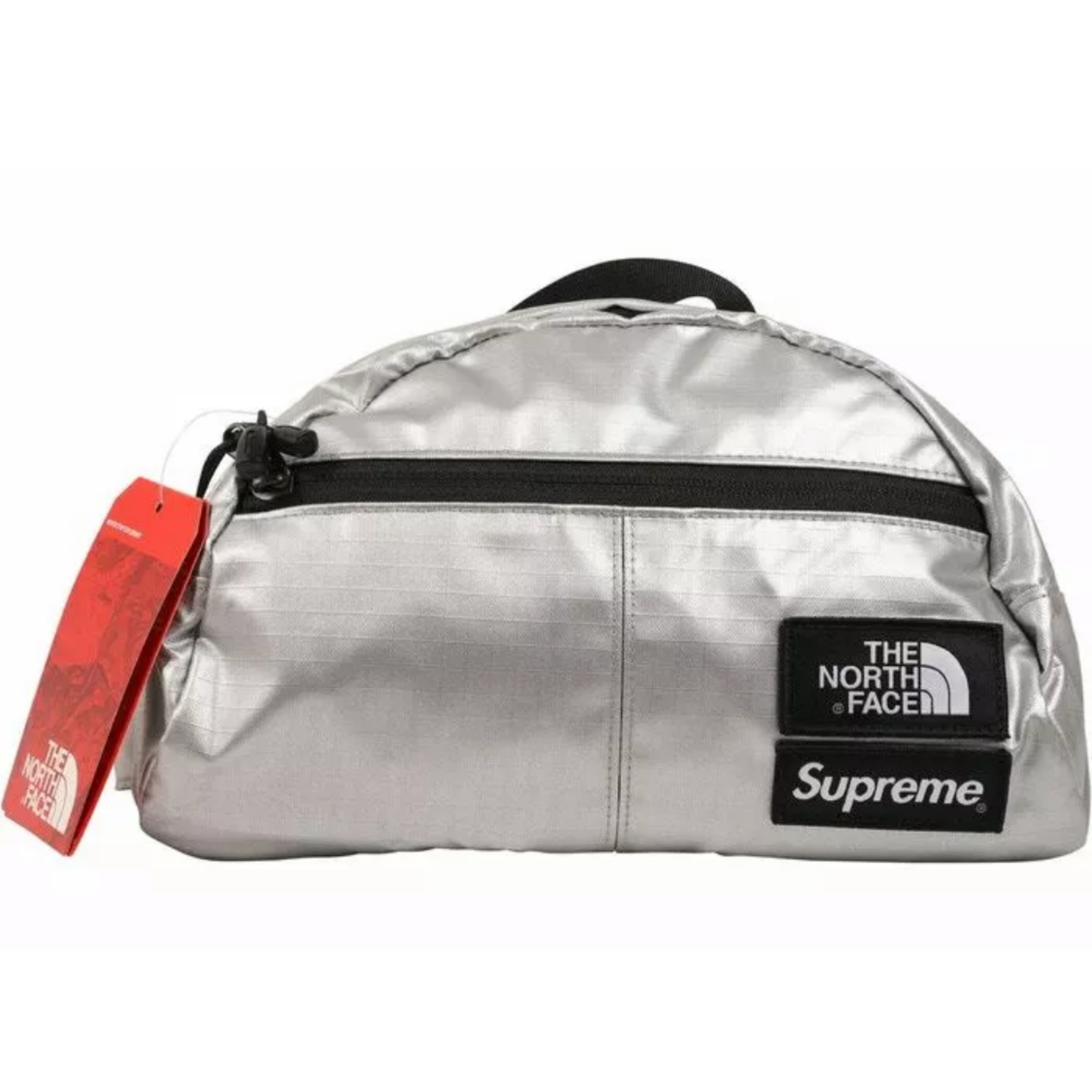 Brand New Supreme X The North Face Metallic Bag