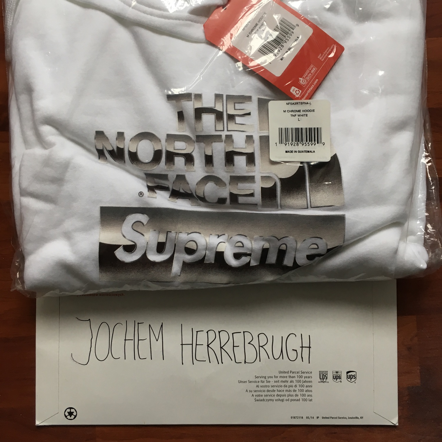 *Need Gone* Supreme The North Face Sweatshirt