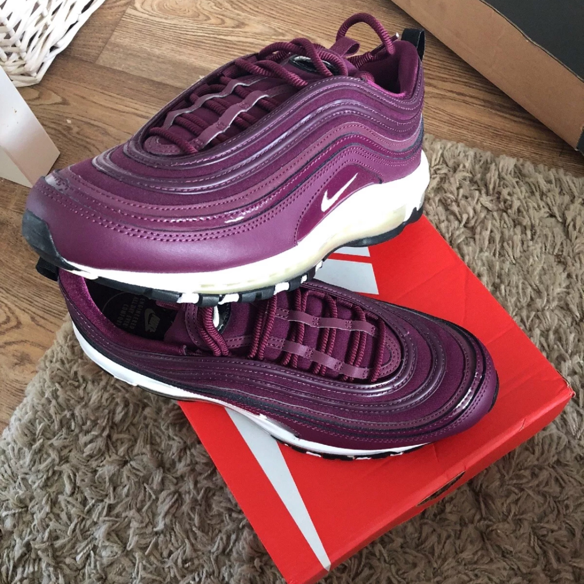 nike air max 97 pink white Westfield Fishery
