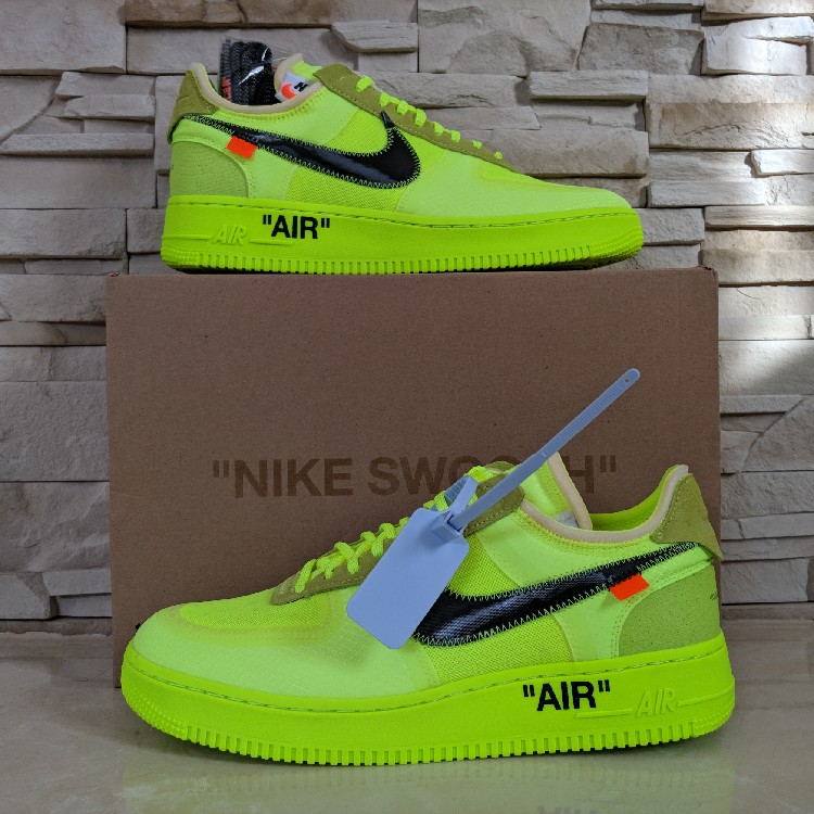 "Off-White x Nike Air Force 1 ""Volt"""