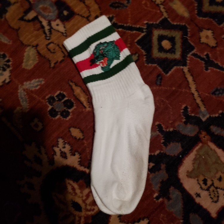 Gucci Socks With Panther Patch