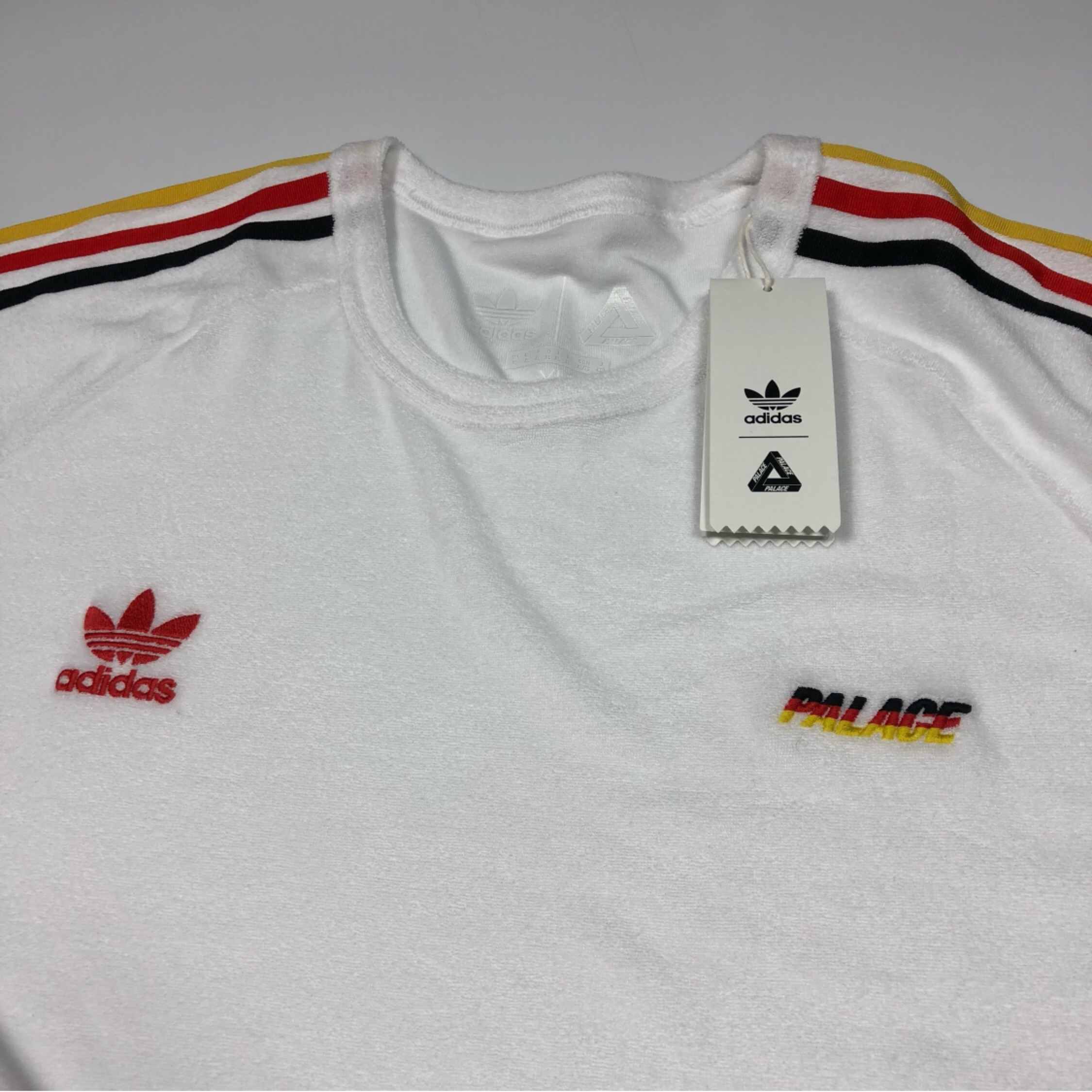 Palace X Adidas French Terry Germany T Shirt Xl