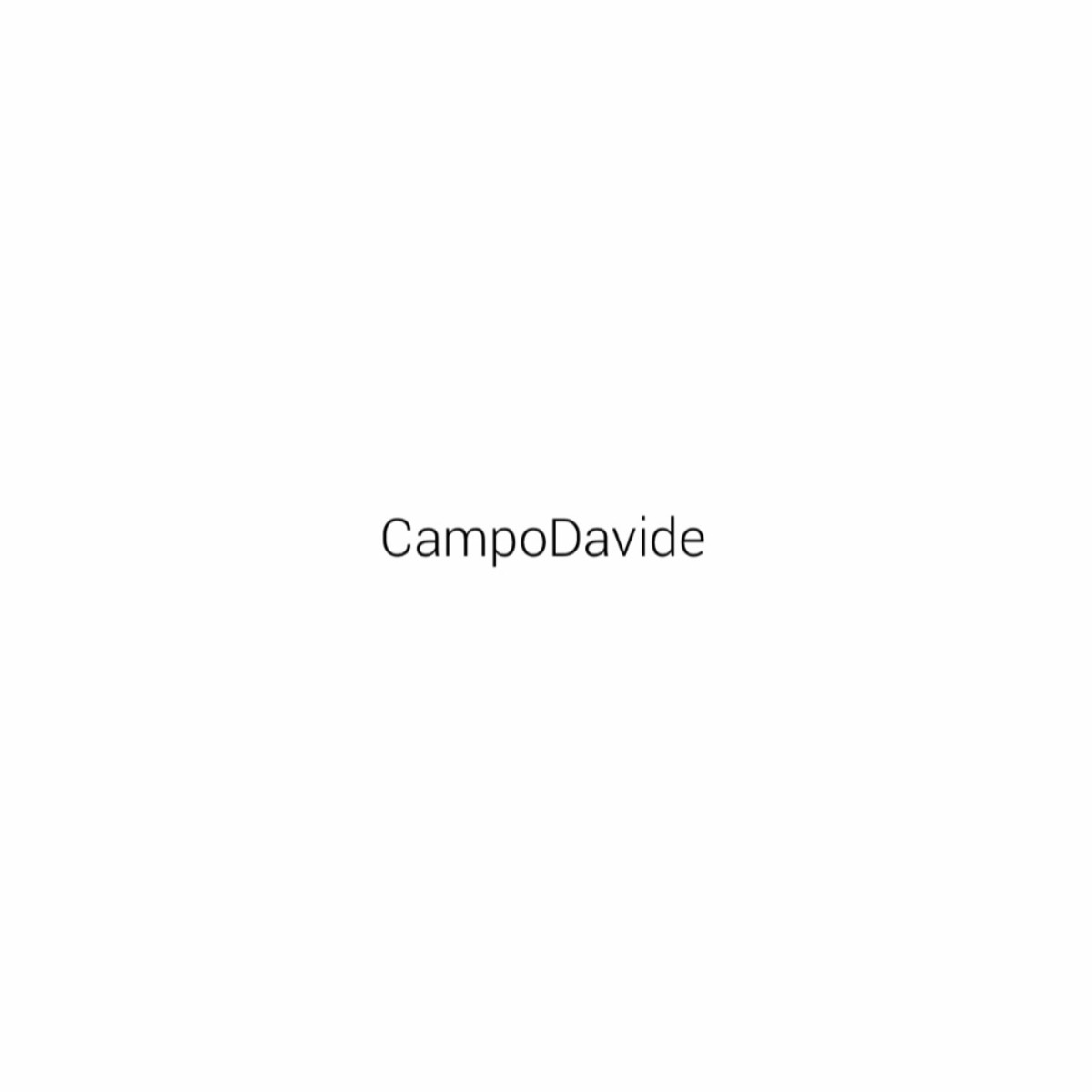 Bump profile picture for @campodavide