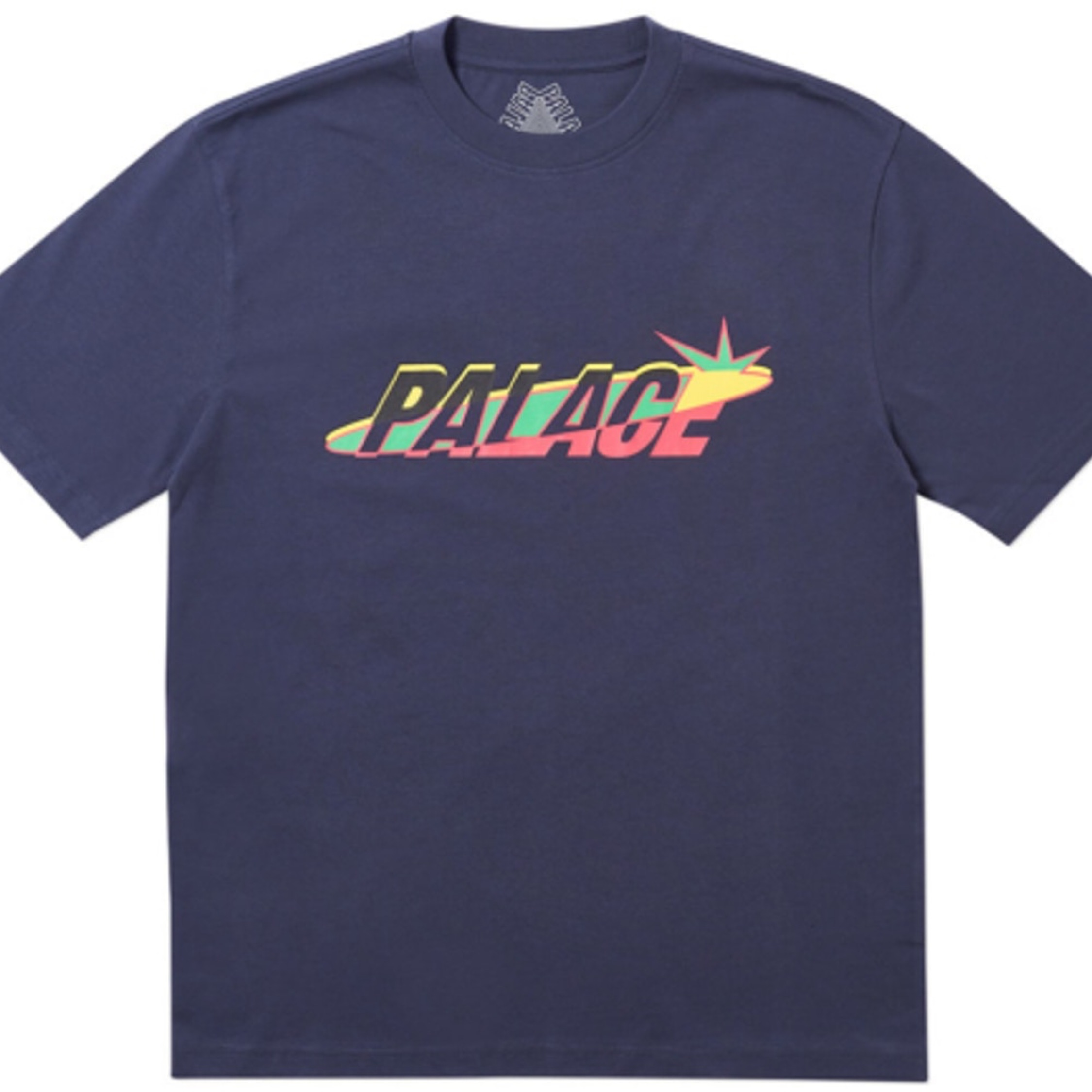Palace Lique T-Shirt In Navy Blue