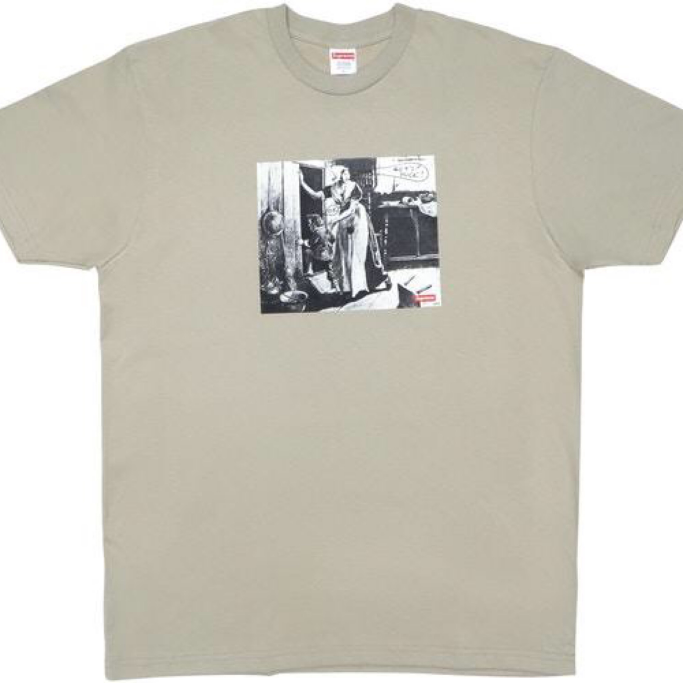Supreme Hiding From Indians T Shirt L