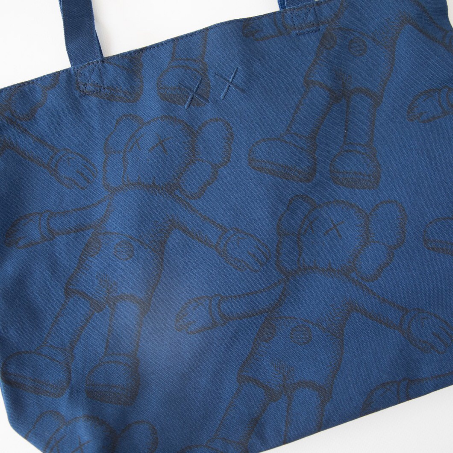 Kaws X Uniqlo Holiday Companion Tote Bag Blue (New